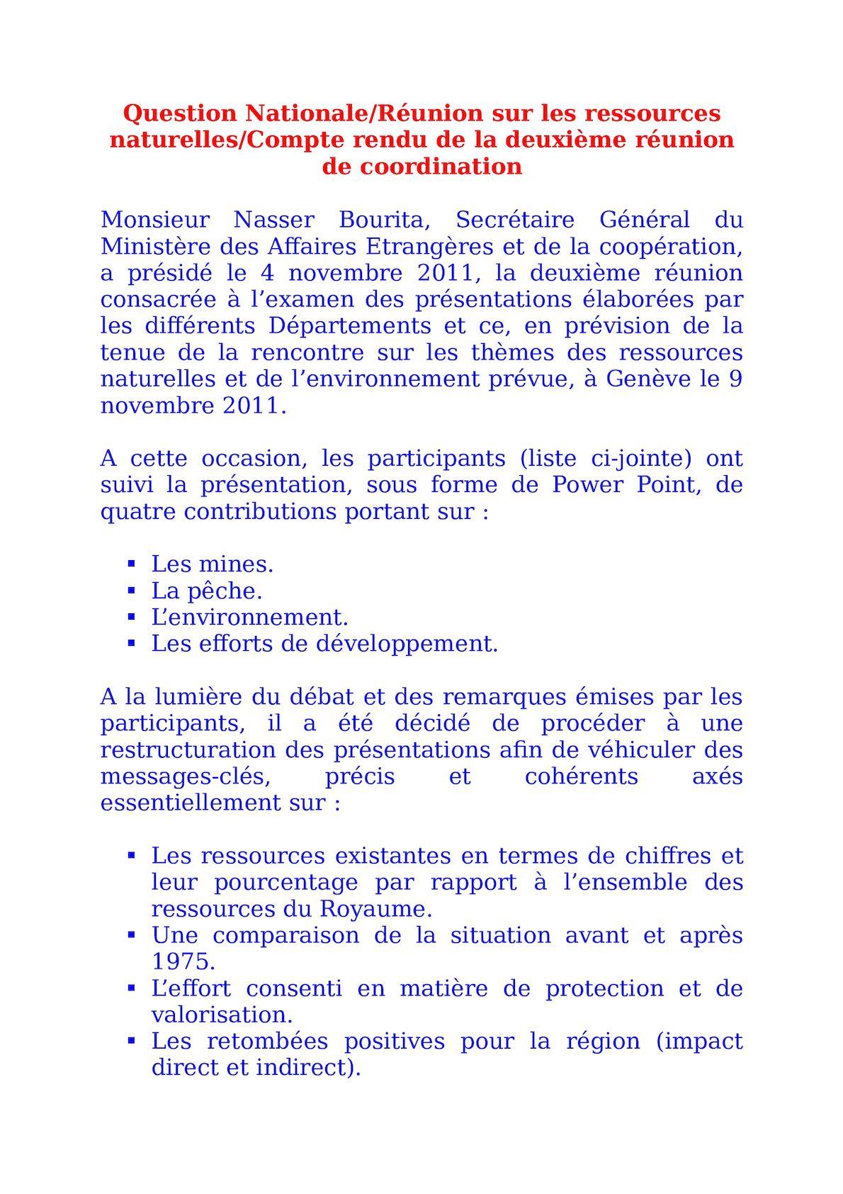 Question Nationale PV 4 Novembre