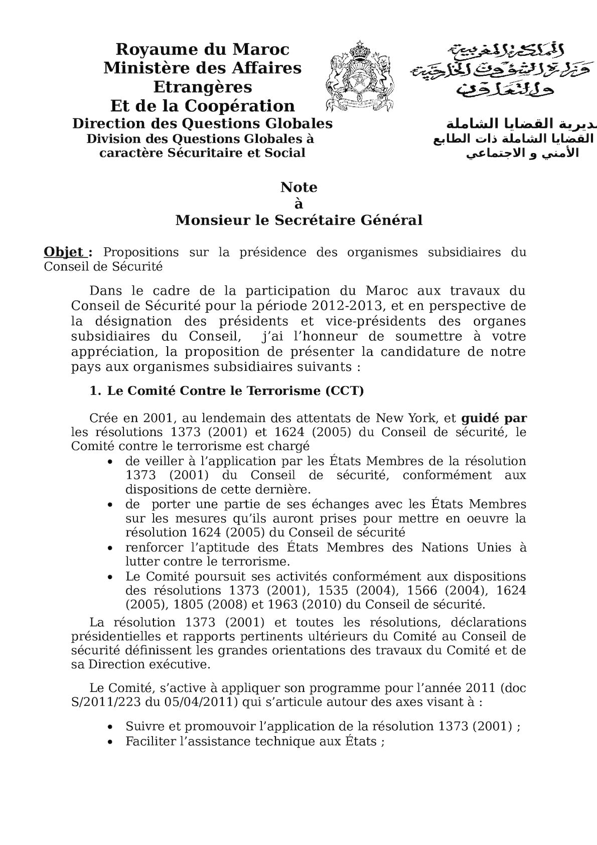 Candidatures Organes Subsidiaires Cs(2)