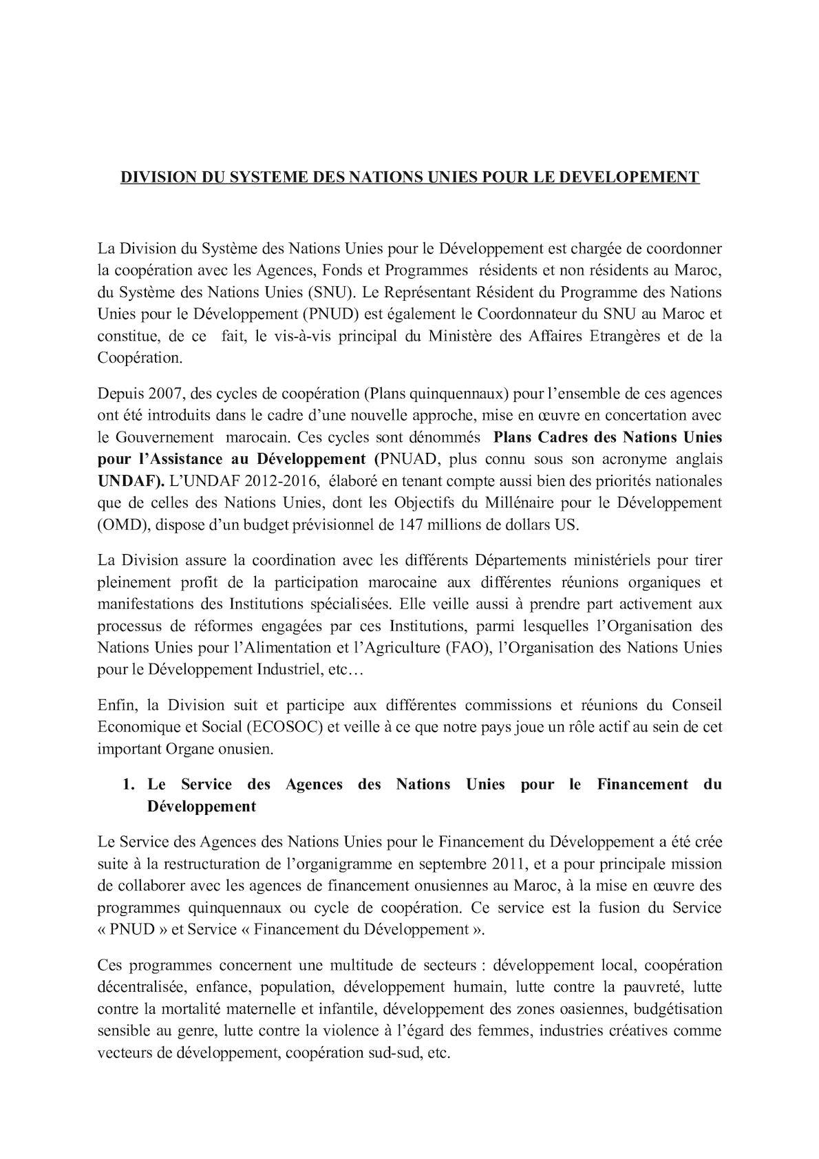 Division Du SNUD. Répartition Des Dossiers (2).
