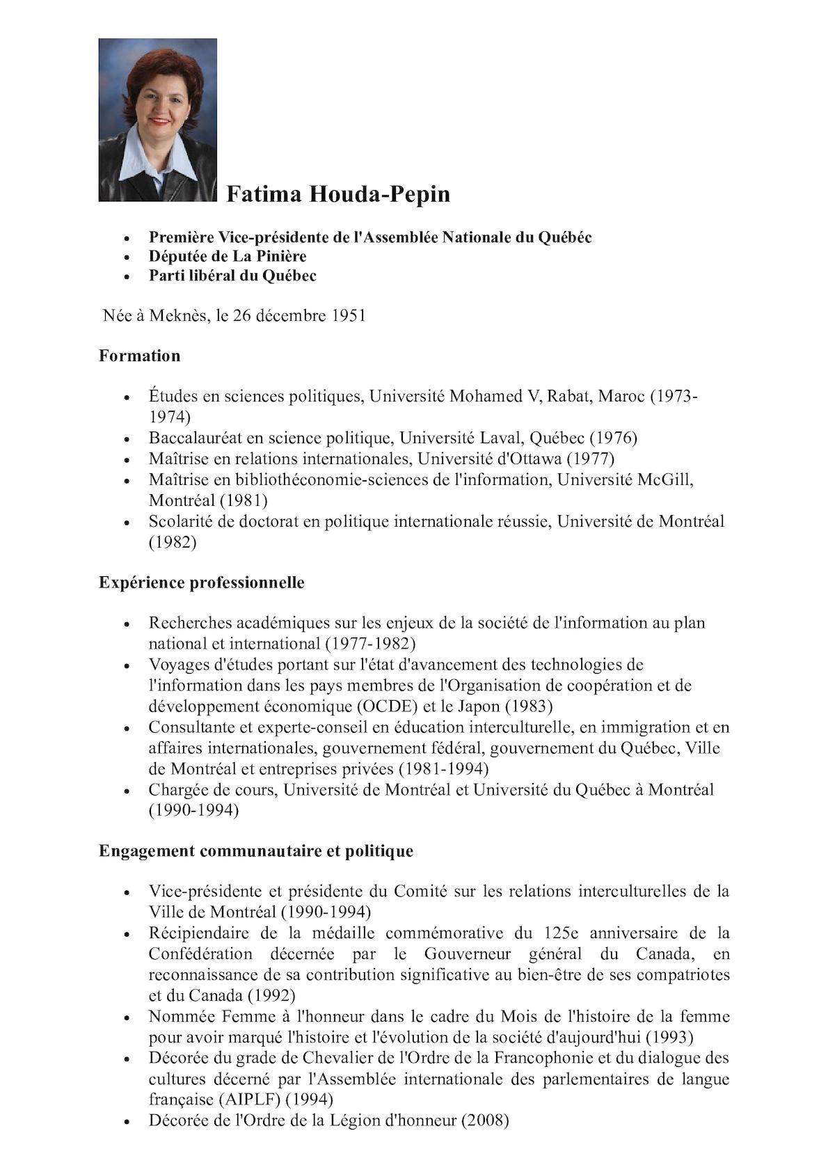 CV Fatima Zahra Peppin