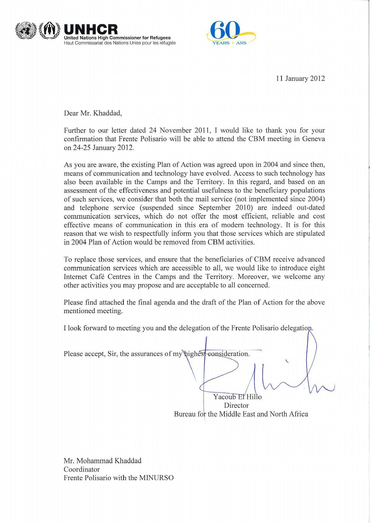 Frente POlisario Letter M Khaddad