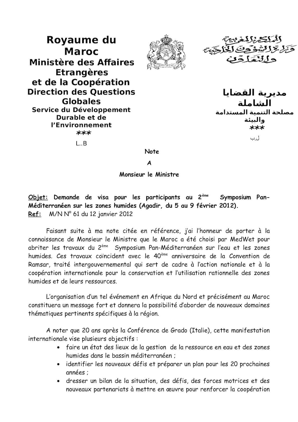 Symposium Agadir Nmm 2
