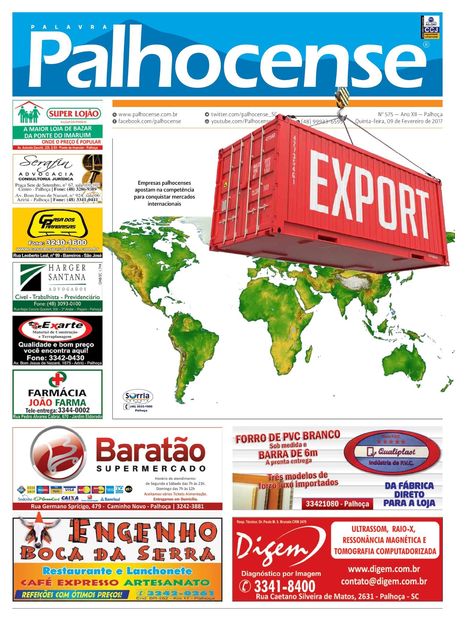 9746673169fe9 Calaméo - Jornal Palavra Palhocense - Edição 575