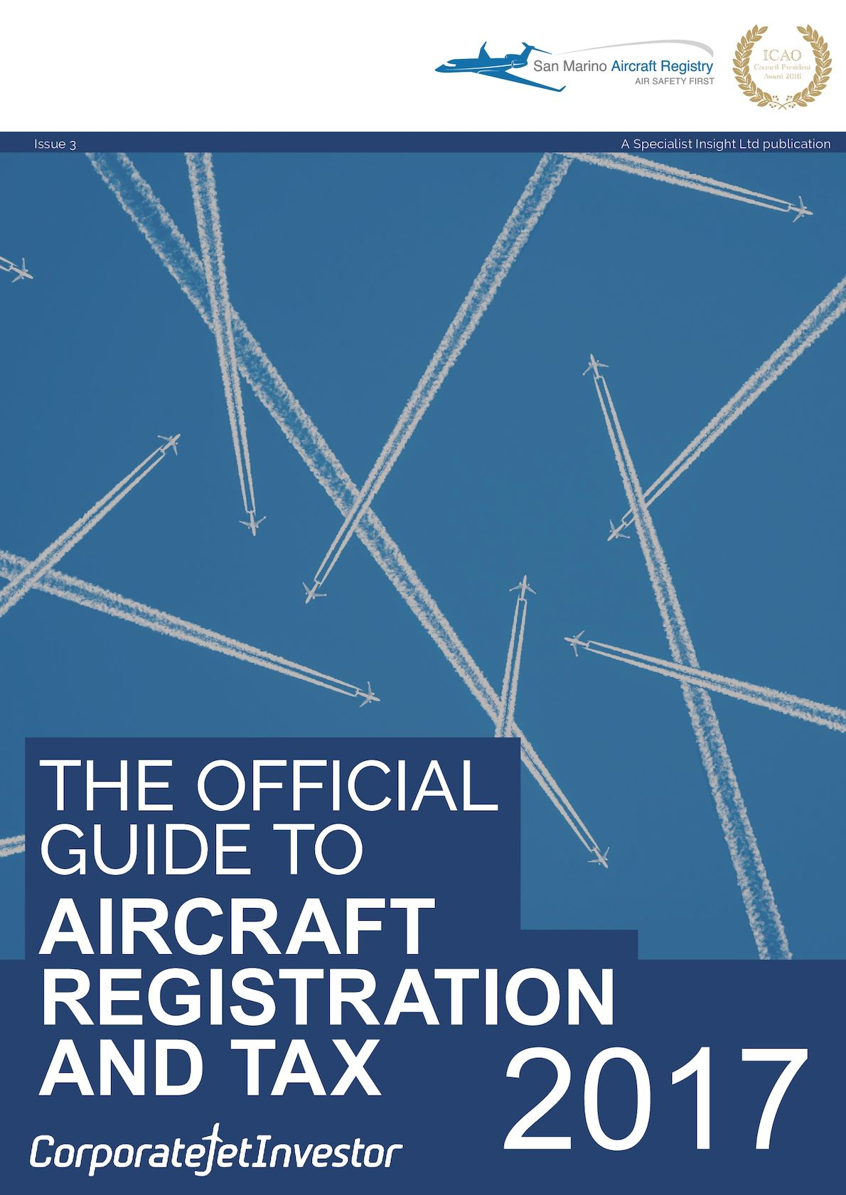 The Official Guide to Aircraft Registration and Tax 2017