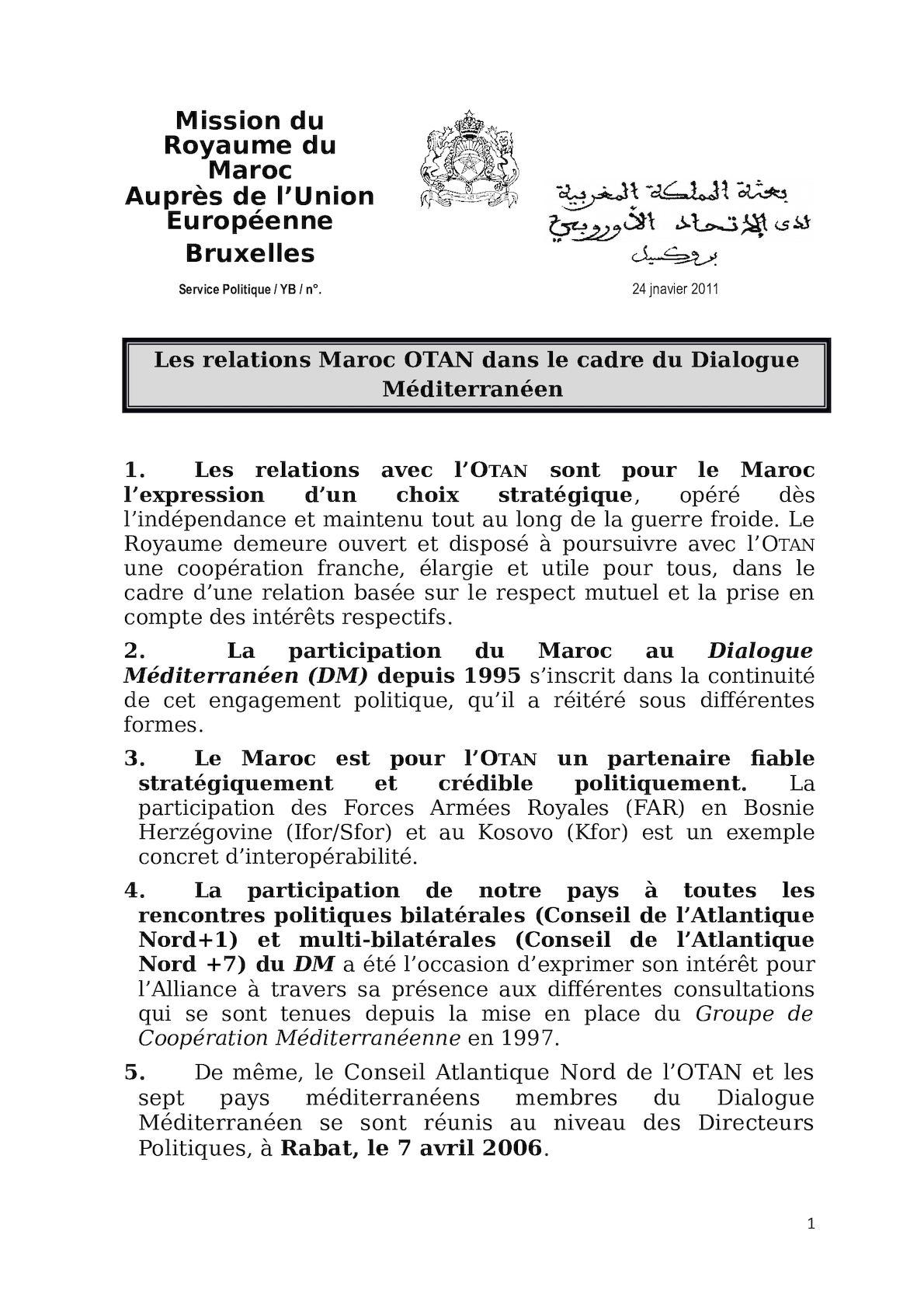 Maroc OTAN Détaillé.