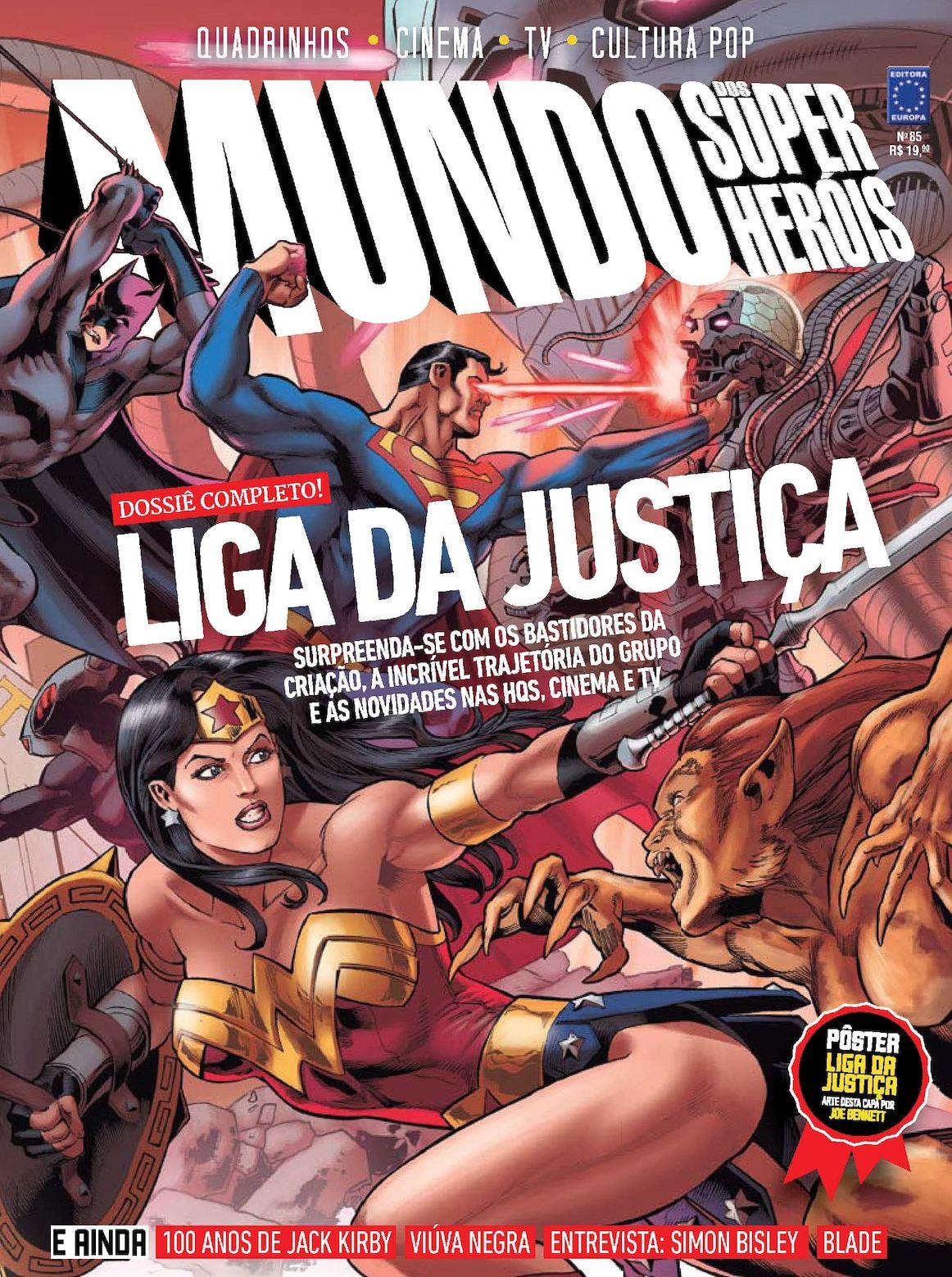 Revista Mundo dos Super Heróis │Edição 85 │Janeiro 2017