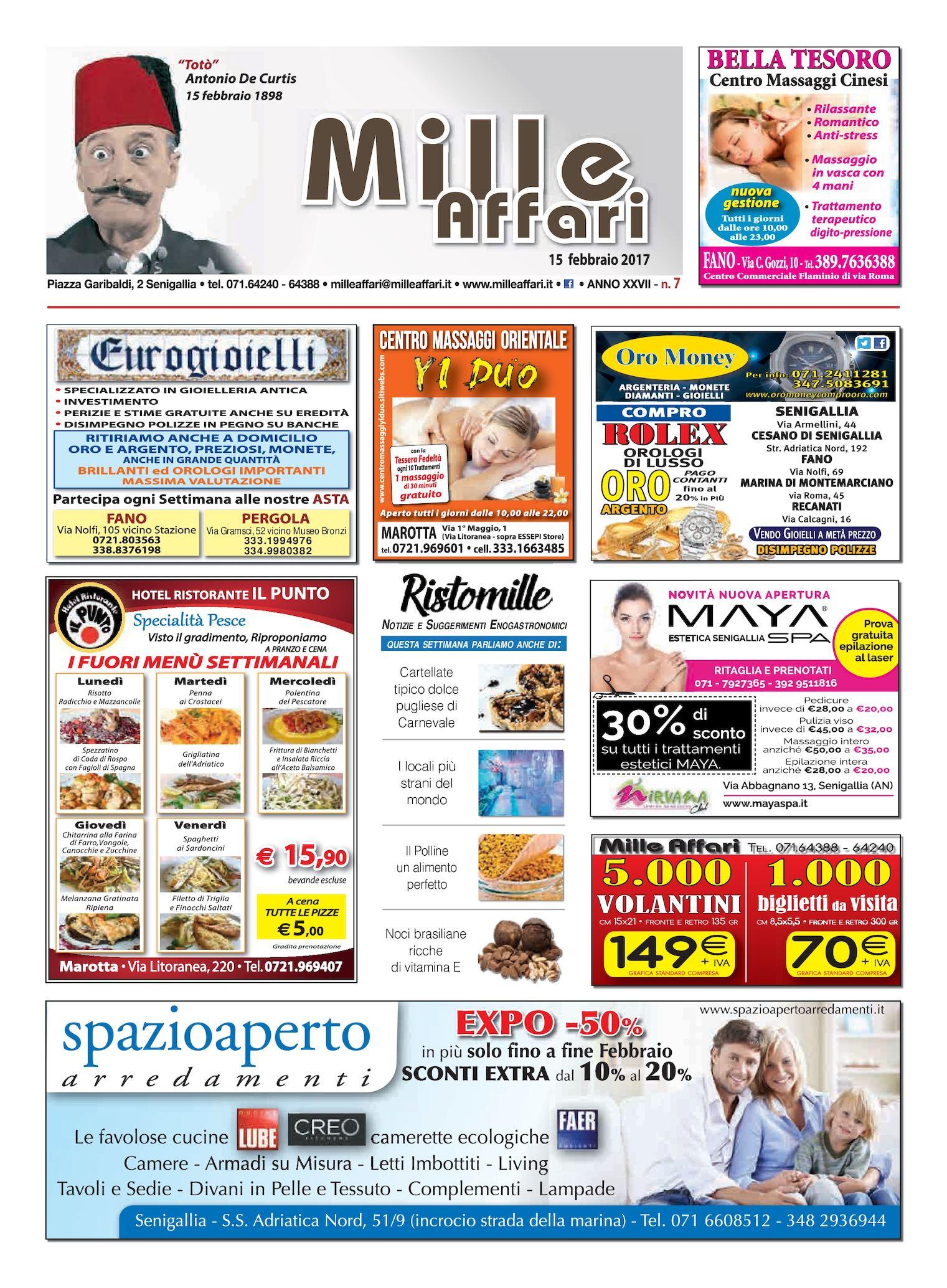 Calaméo - Milleaffari N°07 Del 17.02.17 3702d9f9d57f
