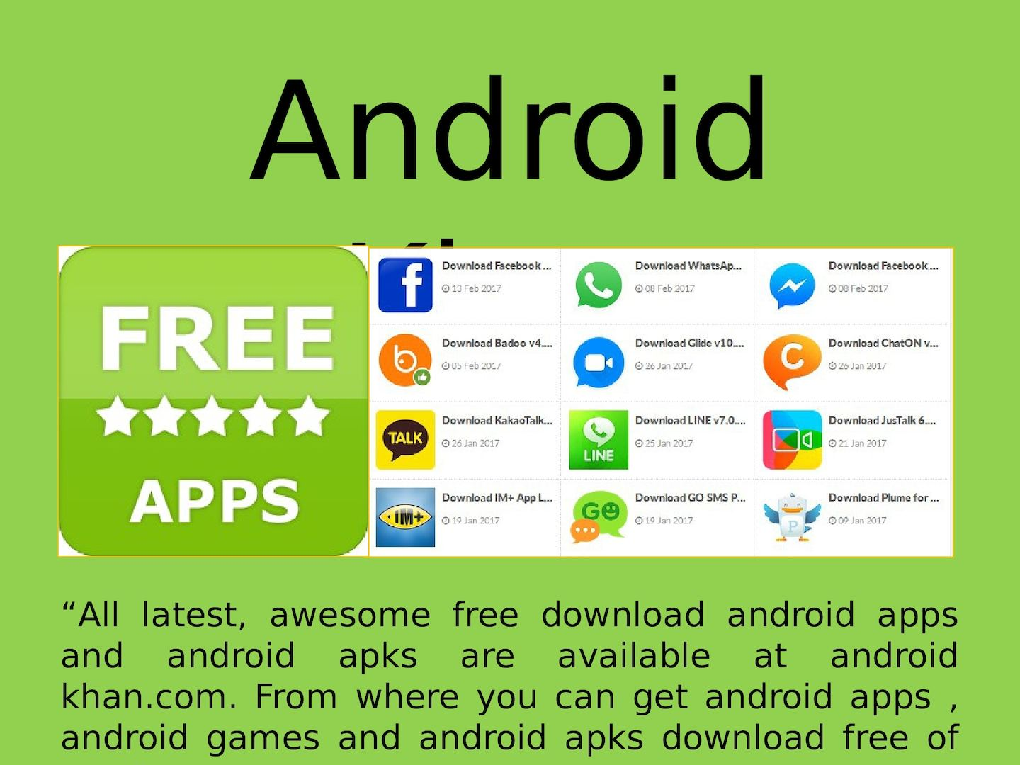 free download badoo messenger for android