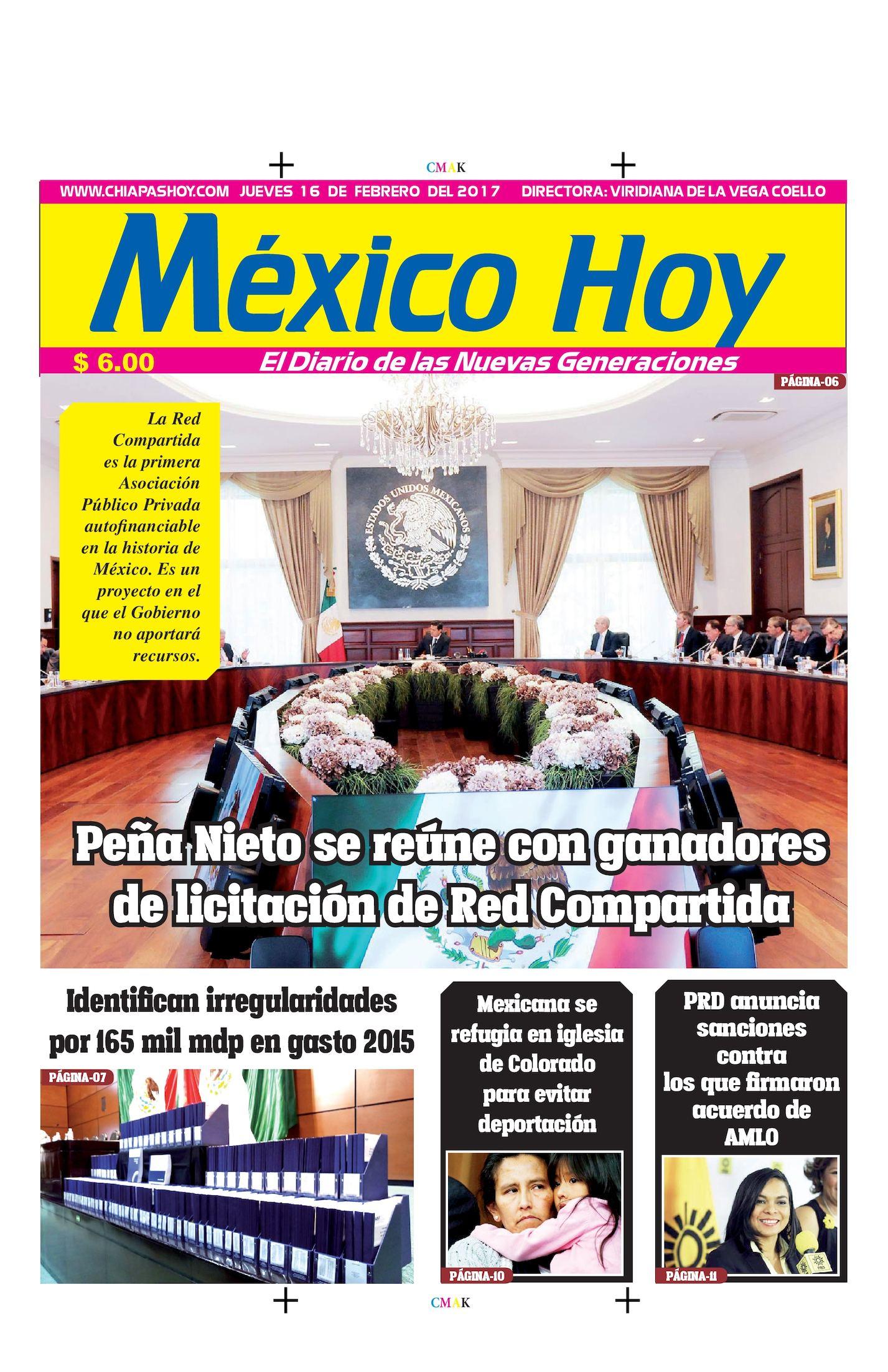 MEXICO 16 DE FEBRERO