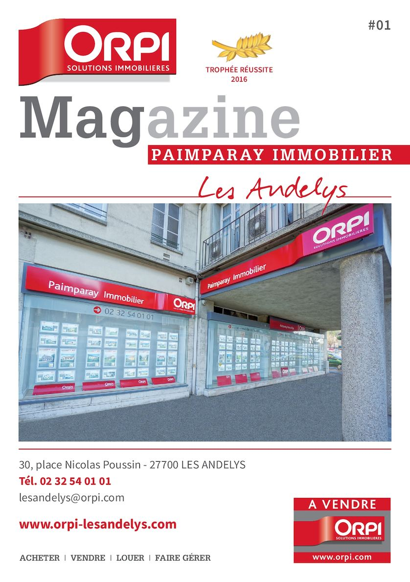 PAIMPARAY IMMOBILIER N°1