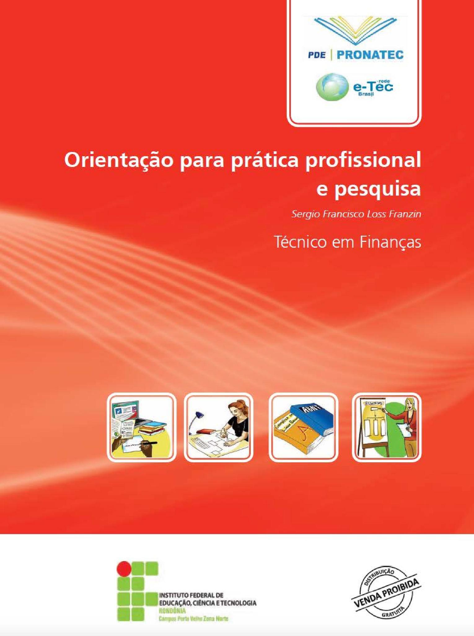 Curso Finanças   Orientação para Prática Profissional e Pesquisa