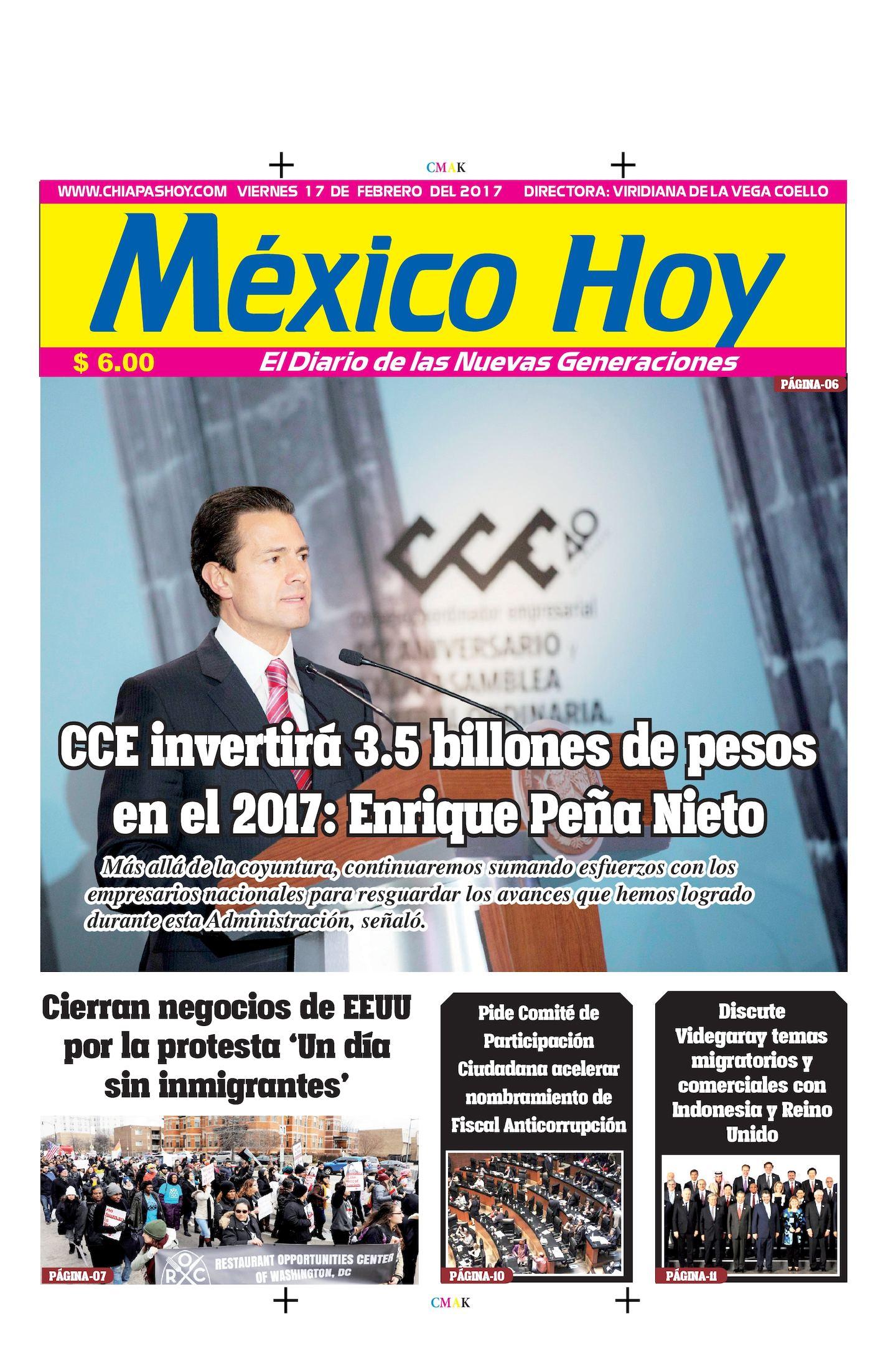 MEXICO 17 DE FEBRERO