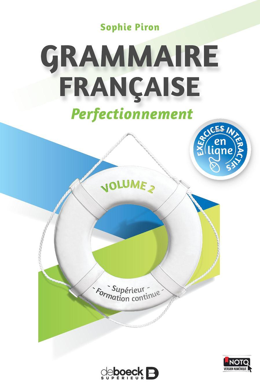 Grammaire française : perfectionnement