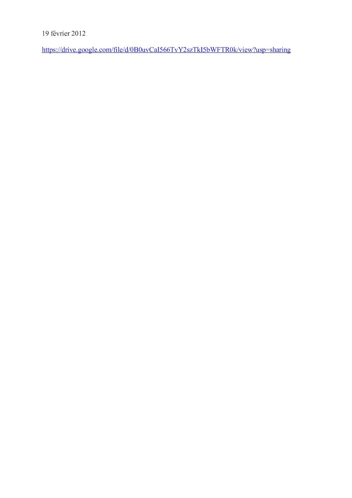 Lien De Téléchargement Google Drive 19 Février Bis2012