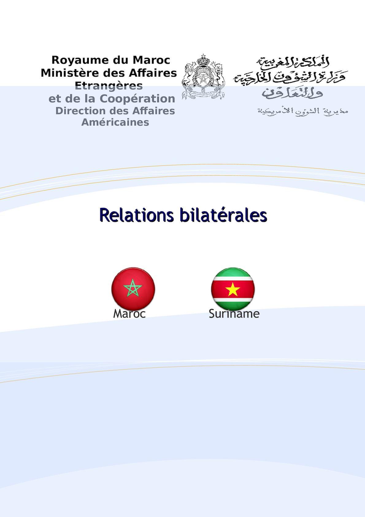 Suriname Dossier