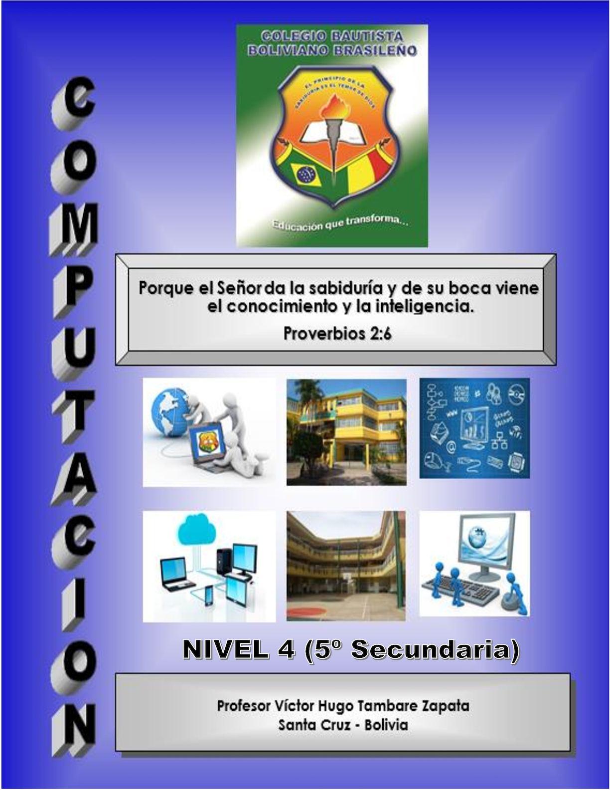 TEXTO NIVEL 4 (5o SECUNDARIA)