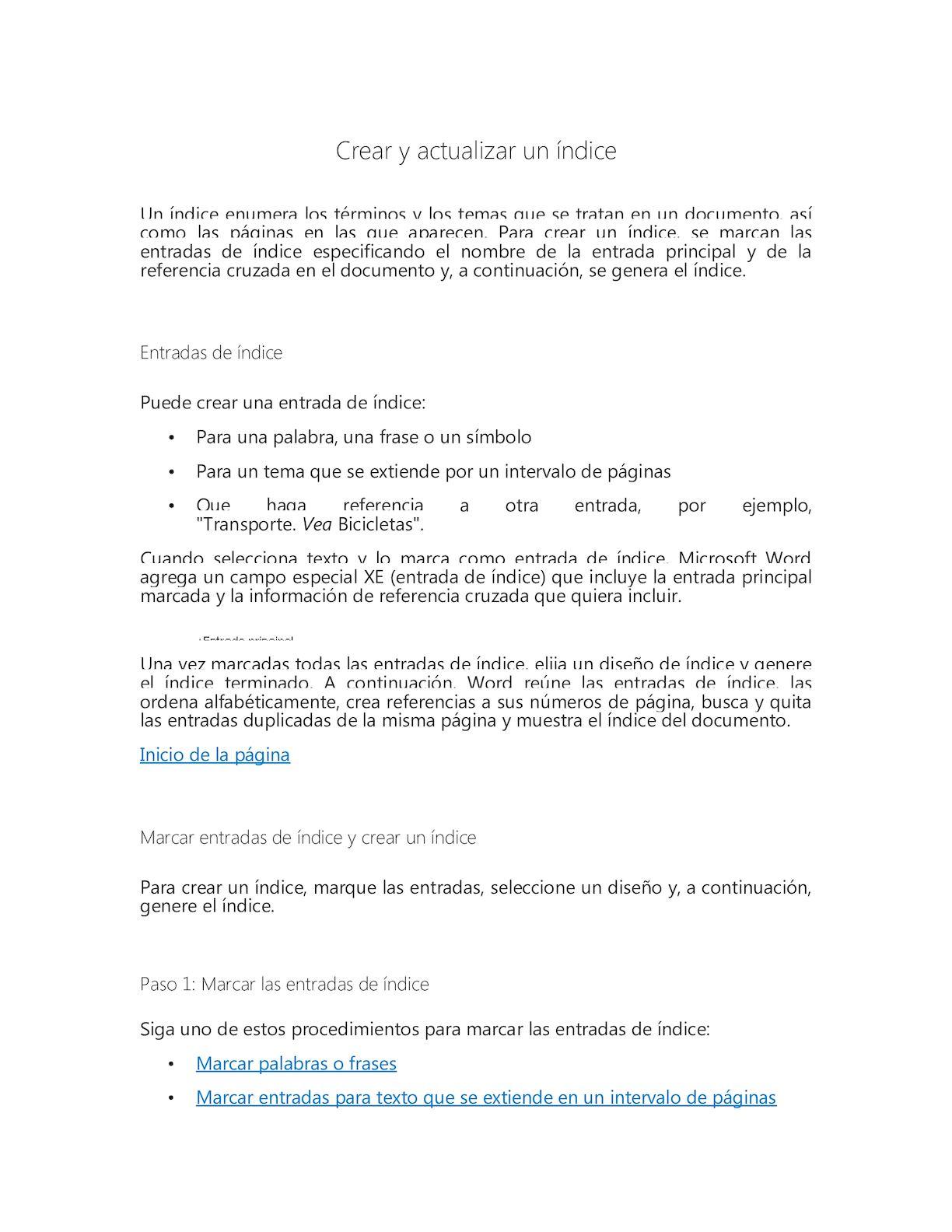 Calaméo - Crear Y Actualizar Un íNdice