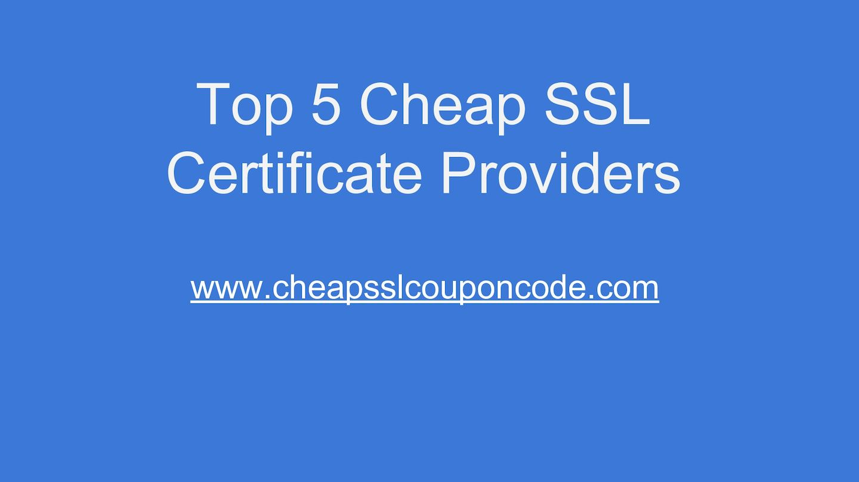 Calamo Cheap Ssl Certificate Providers