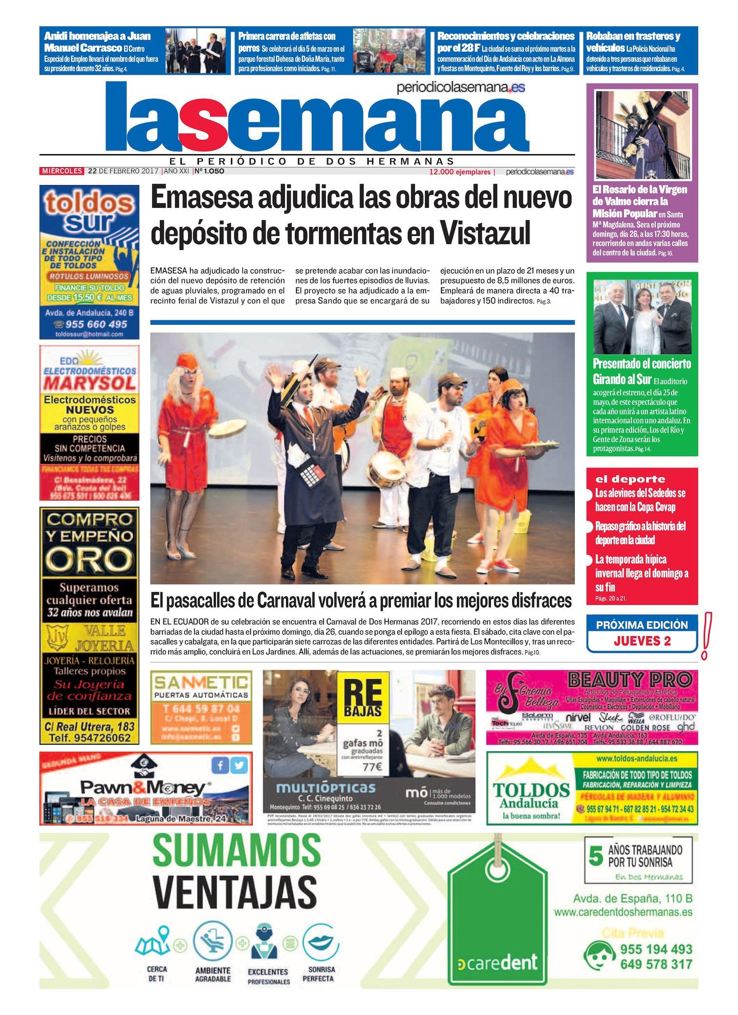 Periodico La Semana 1050