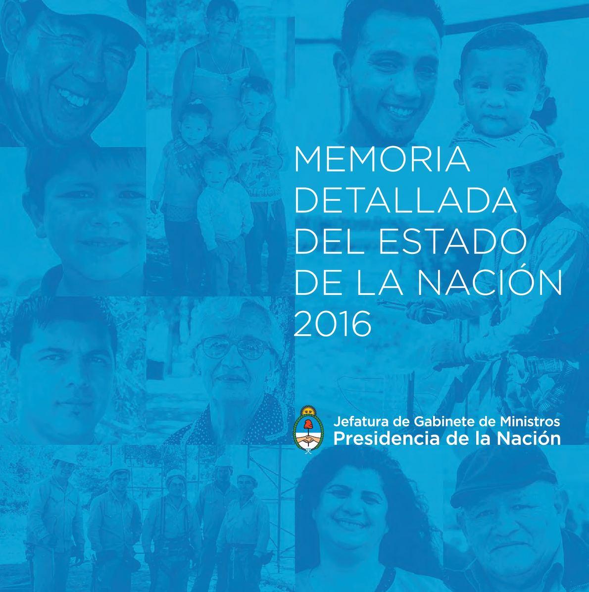 Calaméo - TOMO 1 Memoria detallada del Estado de la Nación 2016