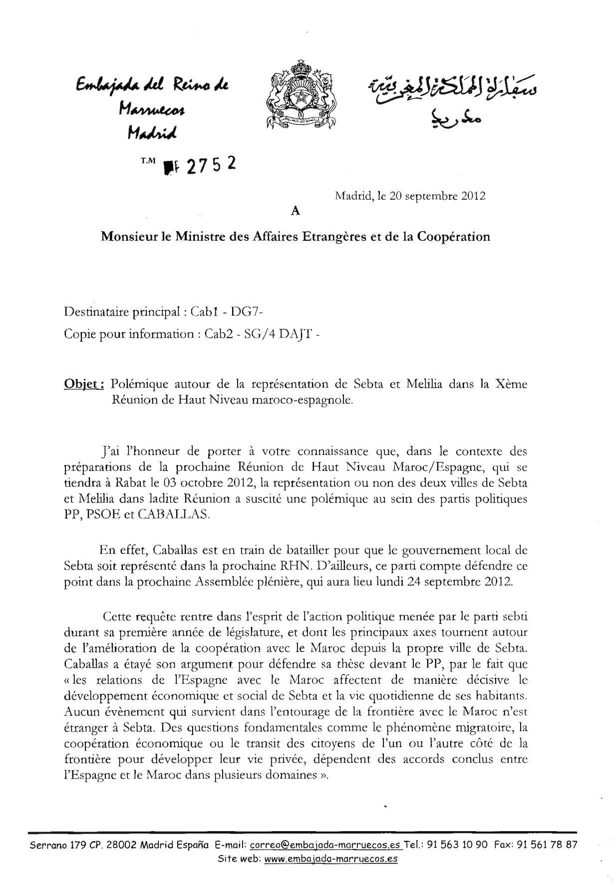 Polémique Autour De La Resprésentation De Septa Et Melilia Dans La Xème Rhnme2