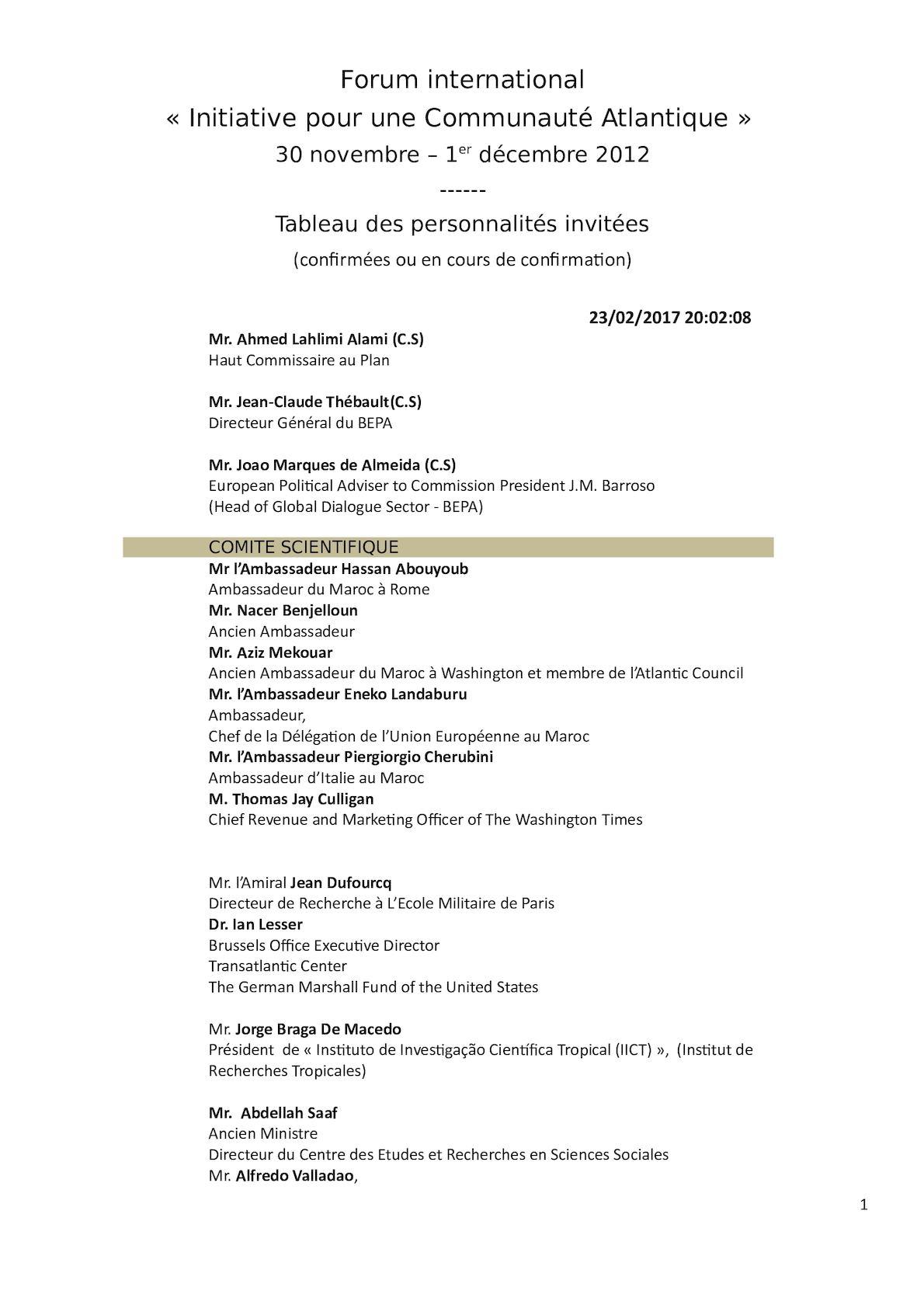Tableau Invit. Particip. [en Cours]-ICA 2012[10 10 12].
