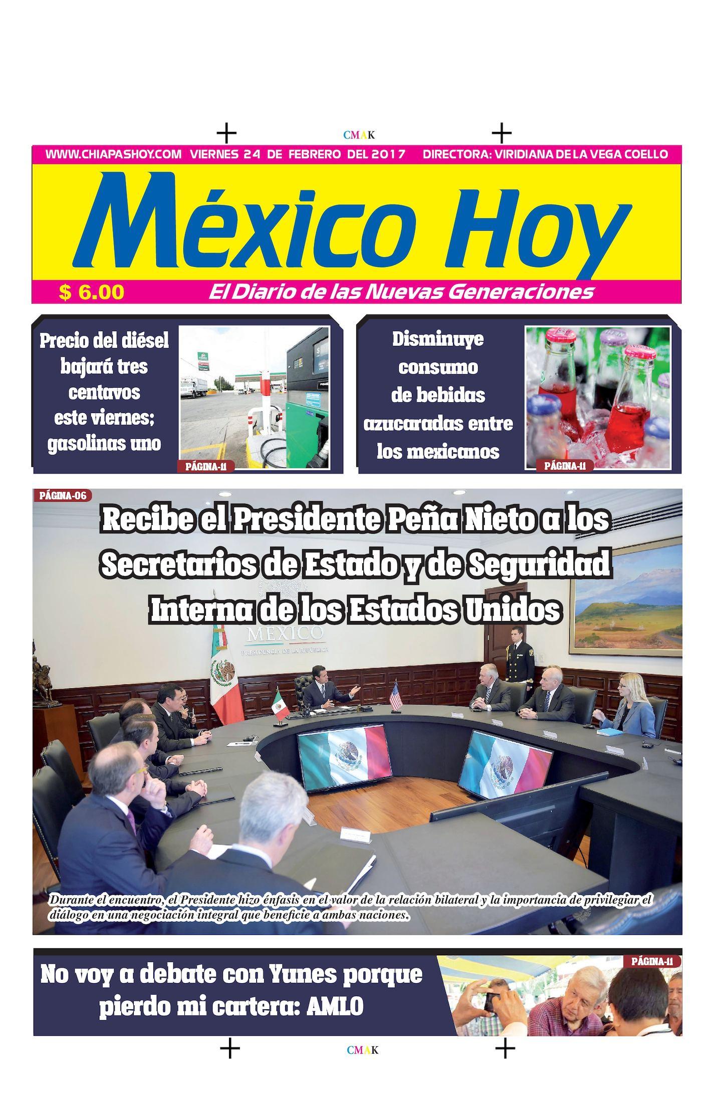 MEXICO 24 DE FEBRERO