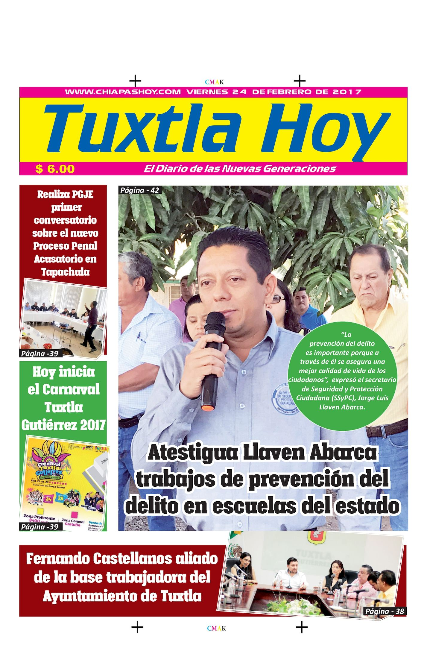 TUXTLA 24 DE FEBRERO