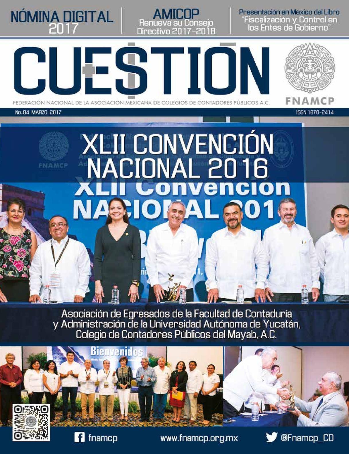 Revista CUESTIÓN No. 84
