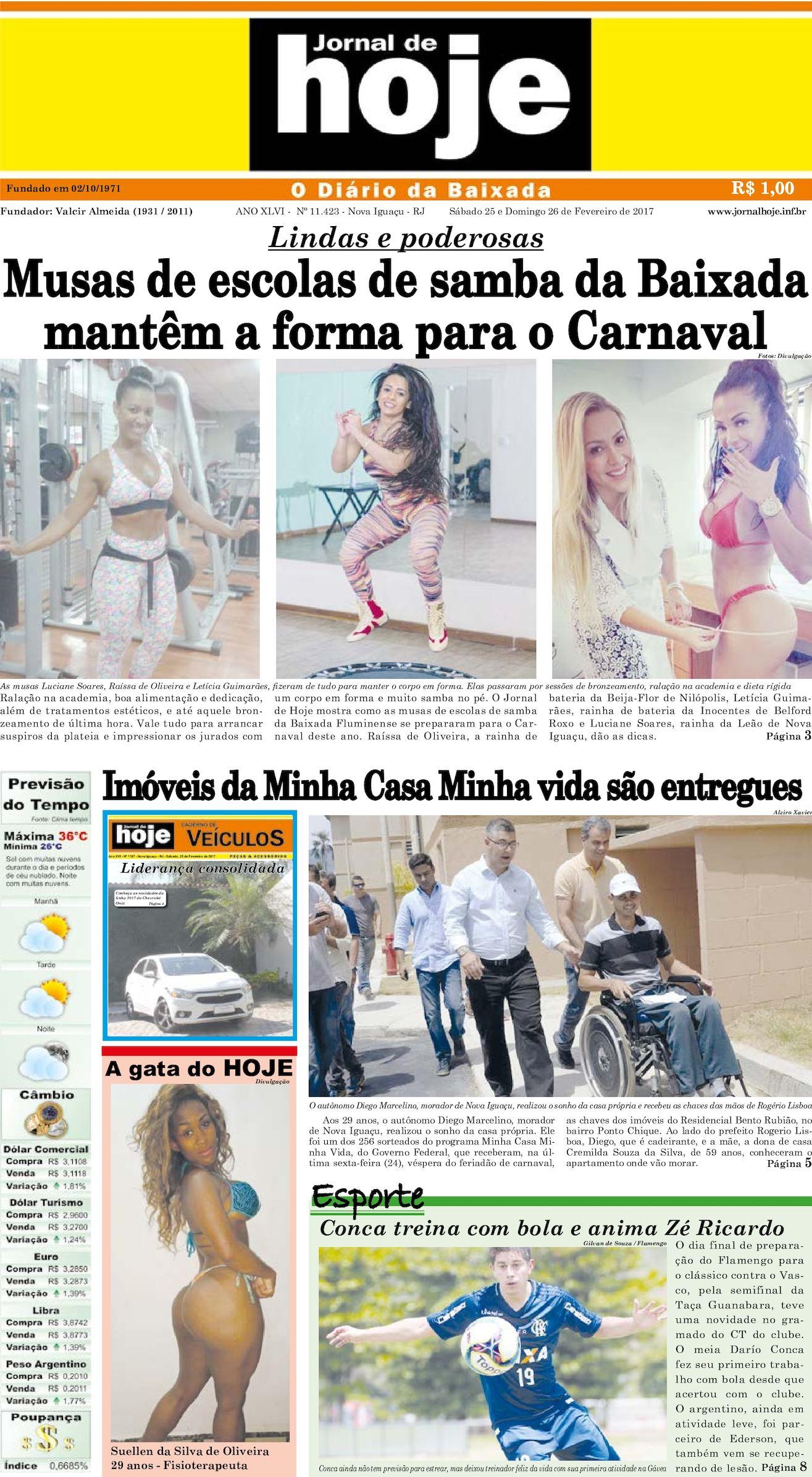 Jornal De Hoje 250217