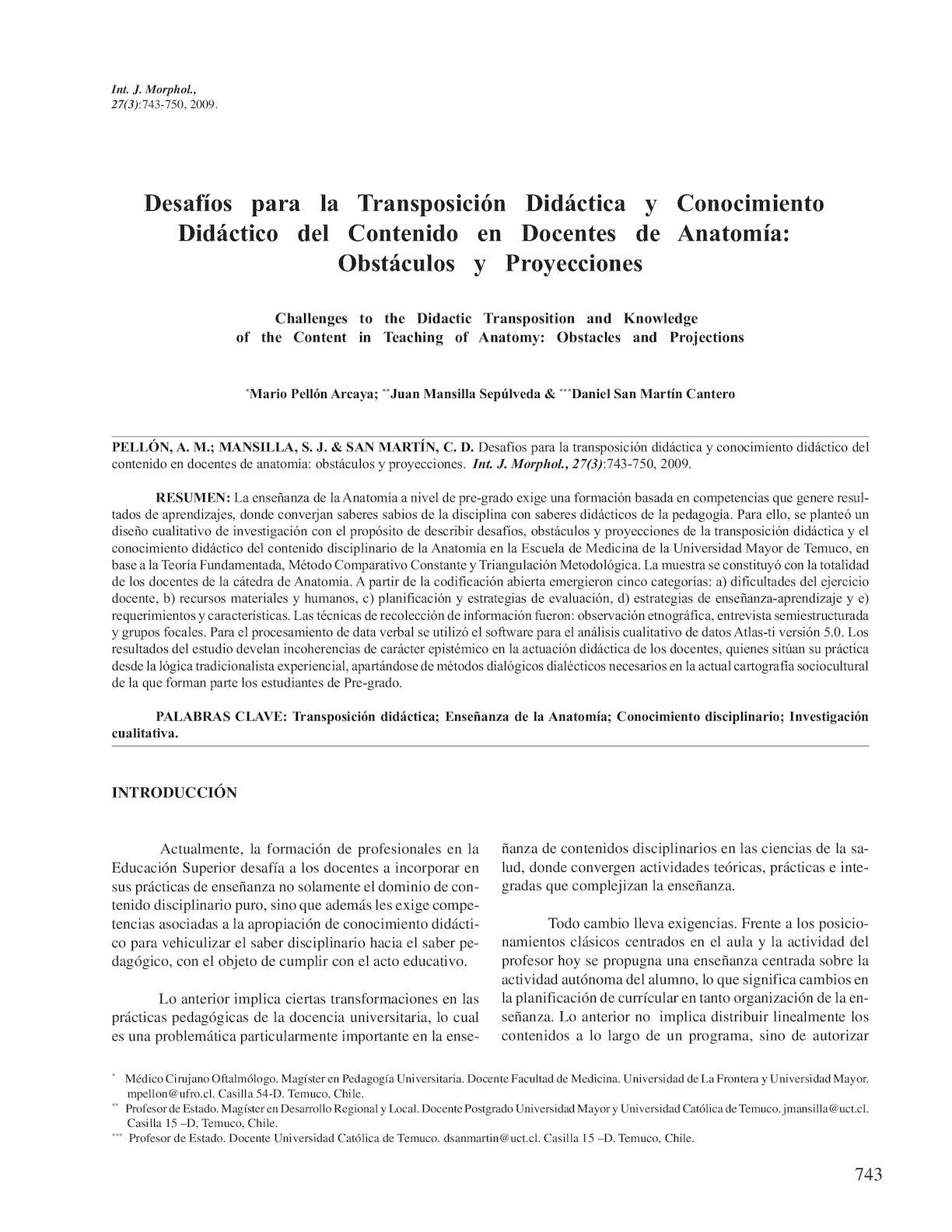Calaméo - Desafíos Para La Trasnposición Didáctica