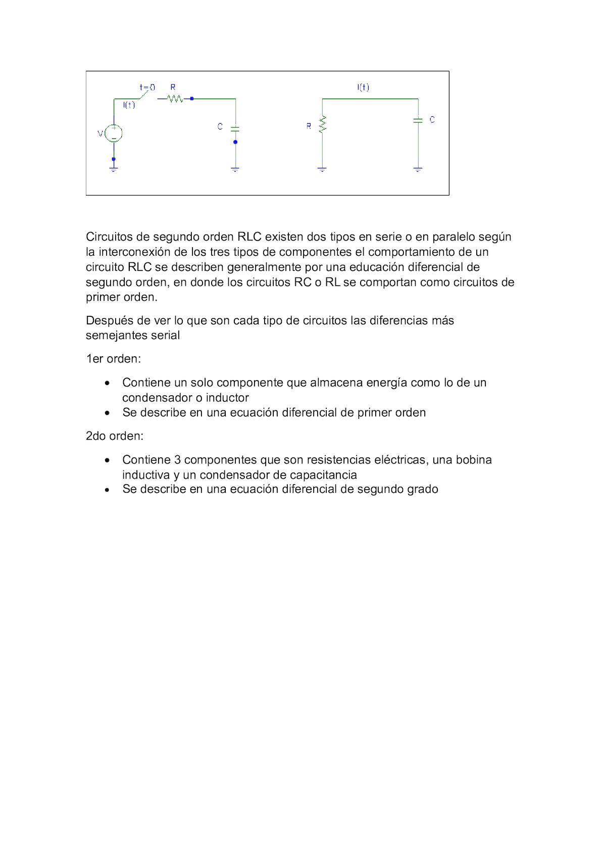 Circuito Rlc : Función de transferencia a partir de diagramas de bloques circuito