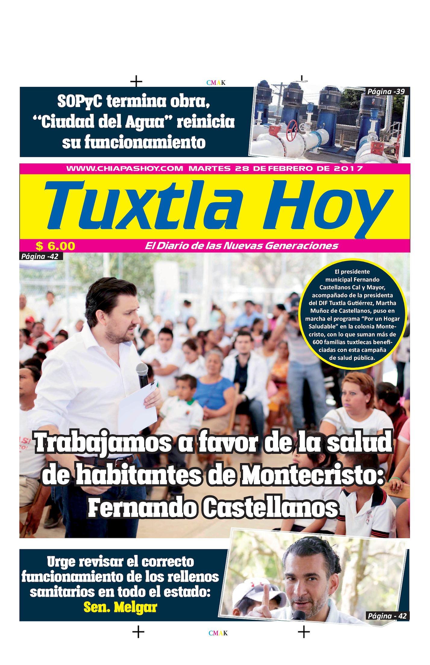 TUXTLA HOY 28 DE FEBRERO