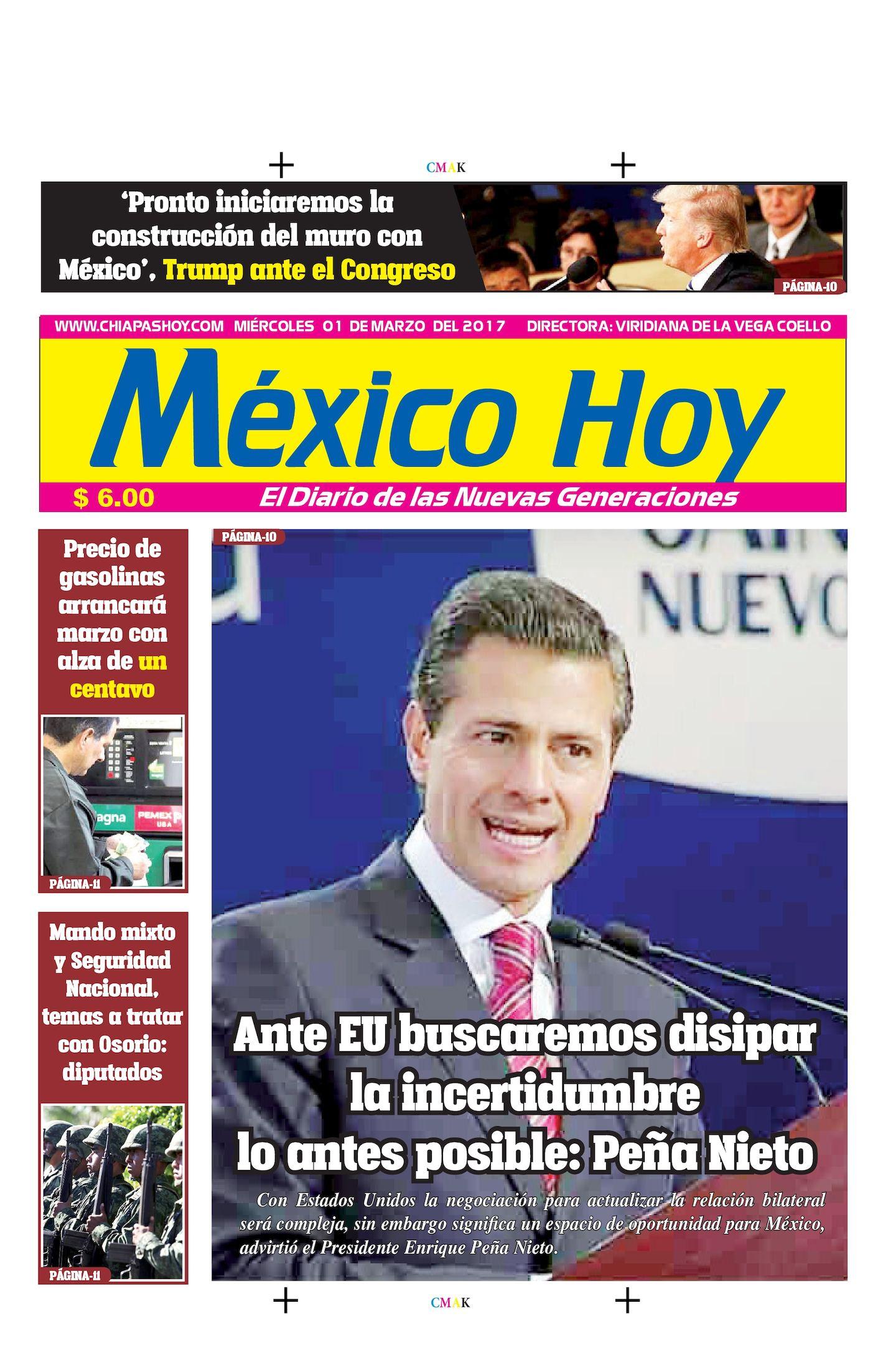 MEXICO 01 DE MARZO