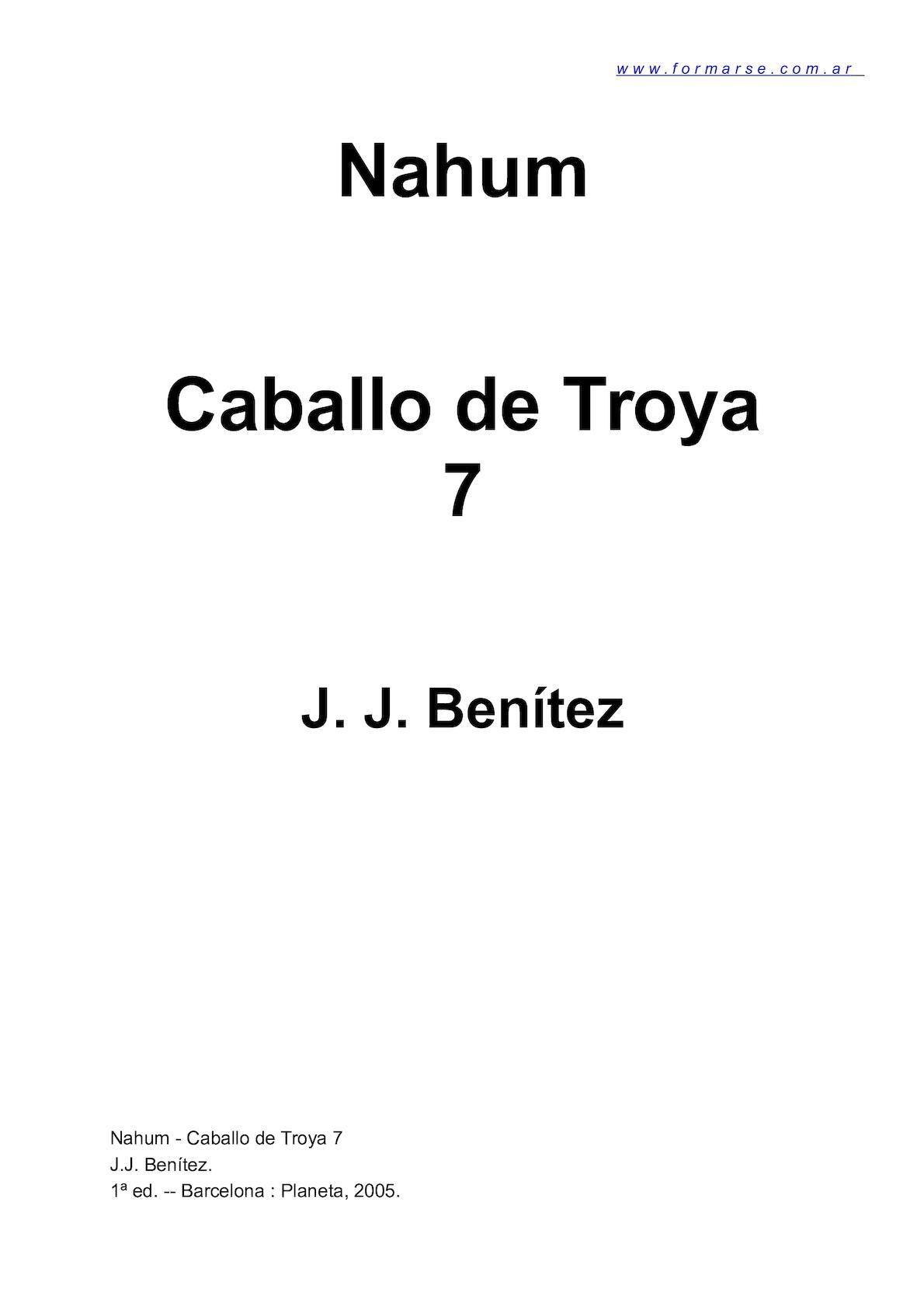 Calaméo - Caballo De Troya 7