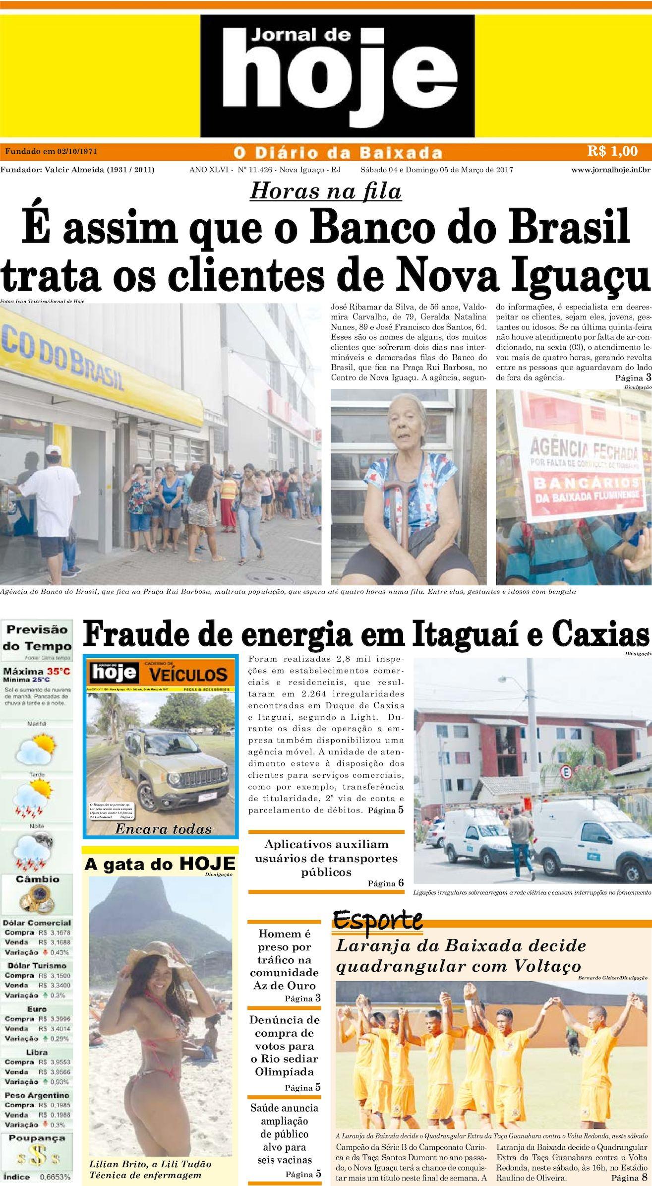 Jornal De Hoje 040317