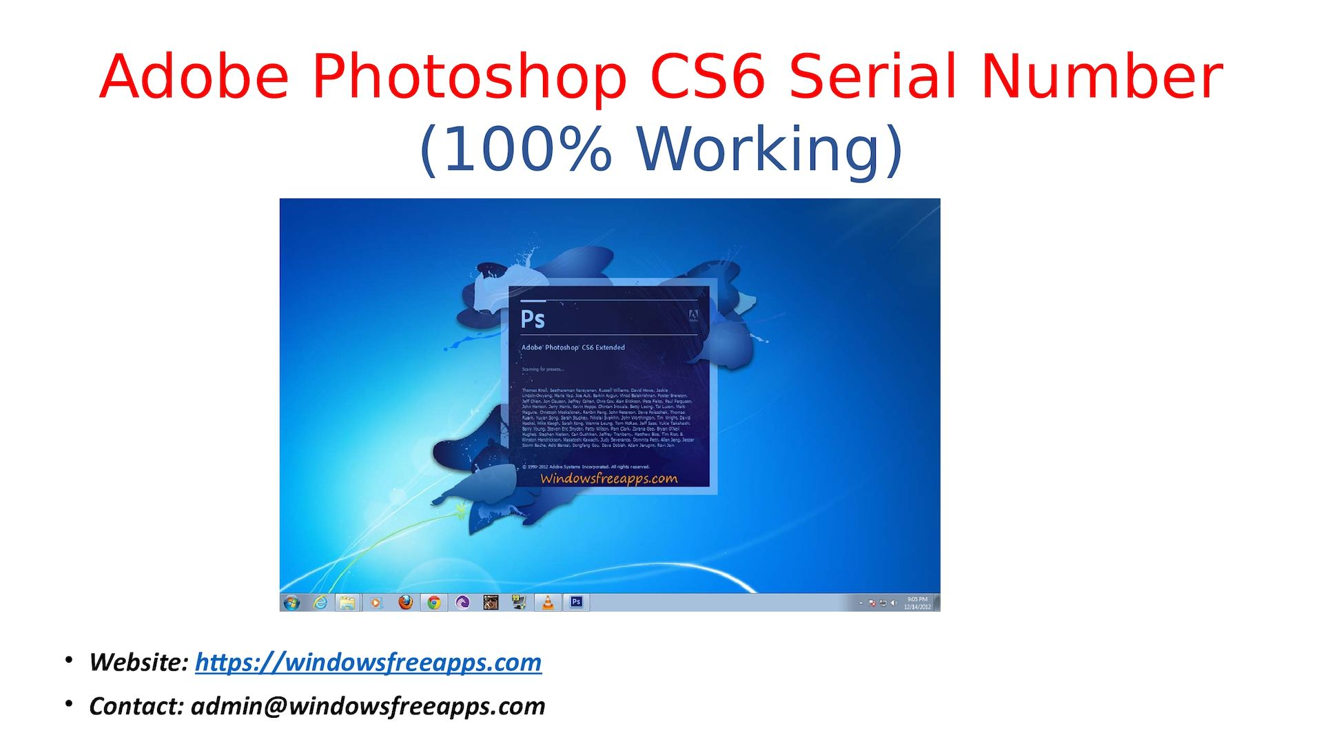 adobe photoshop cs6 full version with serial number
