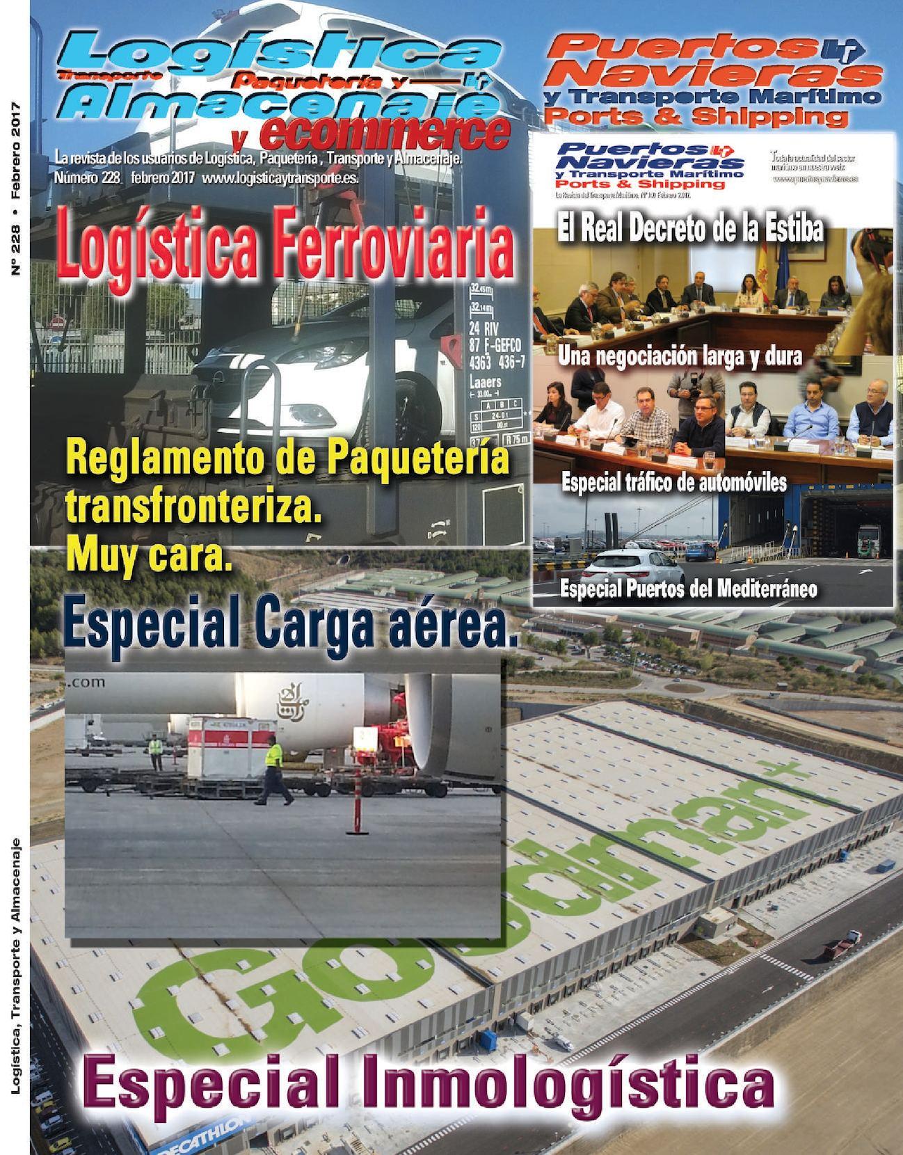 Logistica Transporte y Almacenaje 228 Febrero 2017