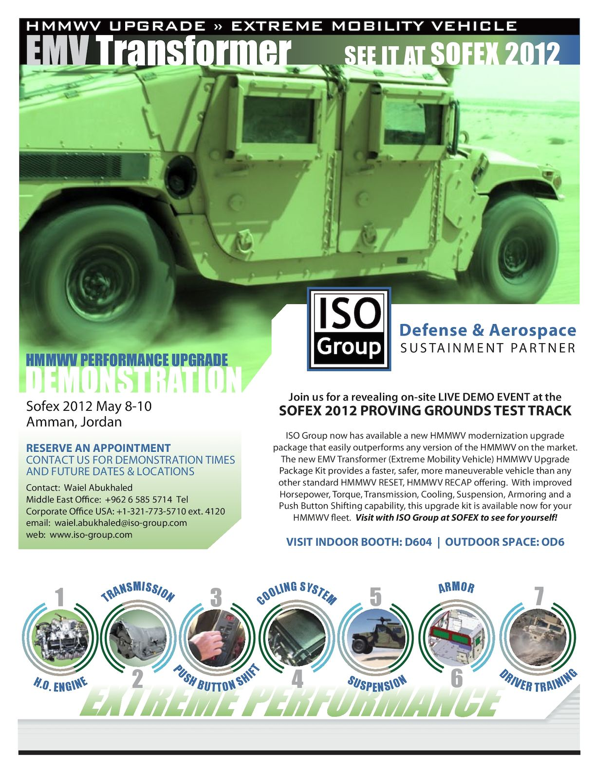 SOFEX HMMWV Upgrade DEMO