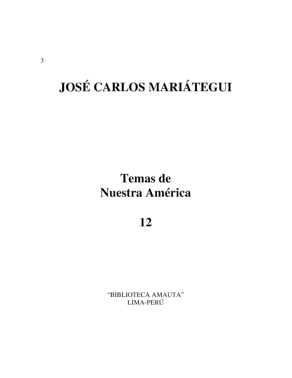 Calaméo - MARIÁTEGUI-Temas de Nuestra América
