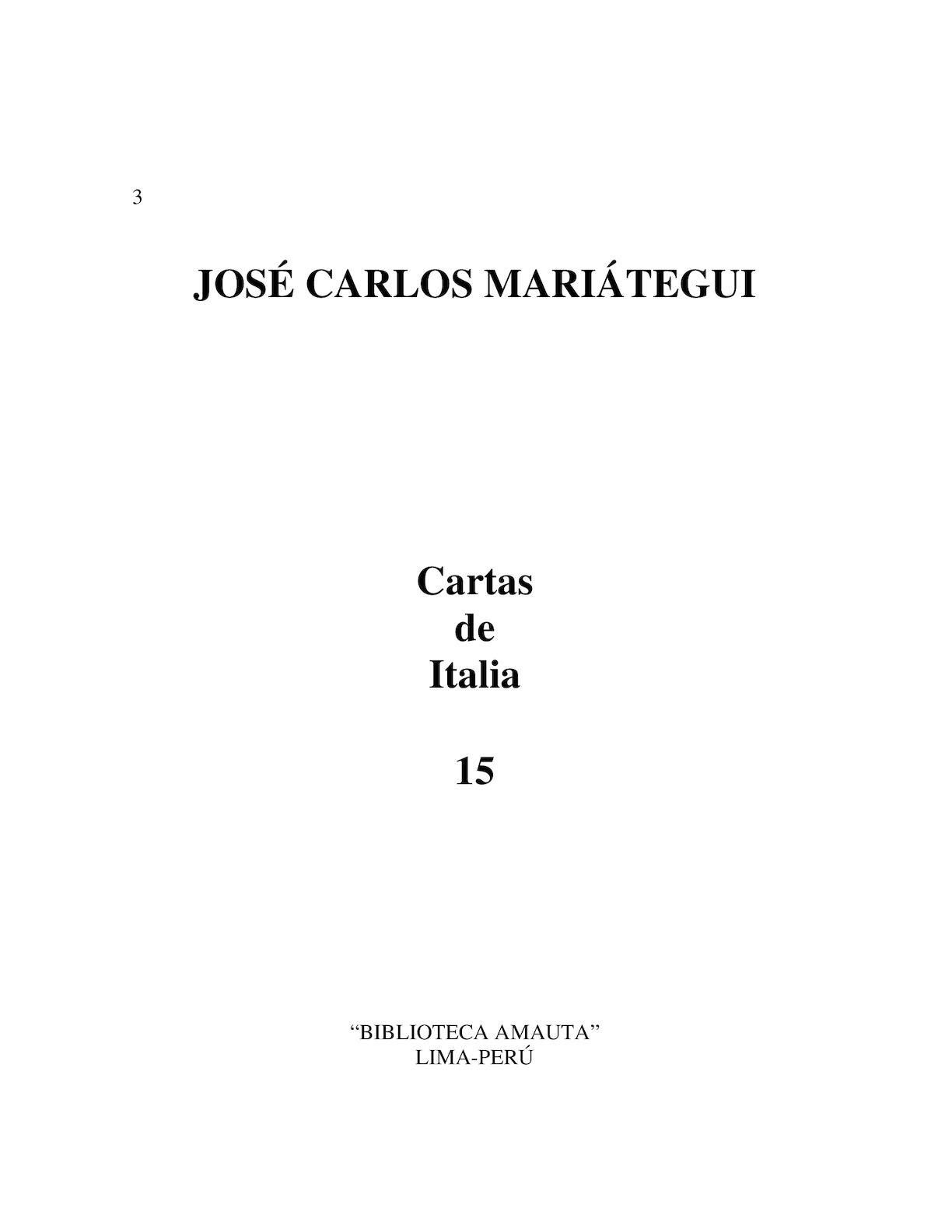 Calaméo - MARIÁTEGUI-Cartas de Italia
