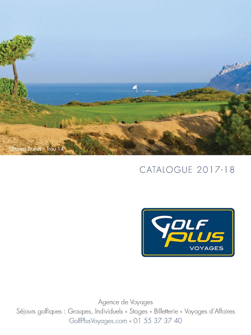 Catalogue Golf Plus Voyages
