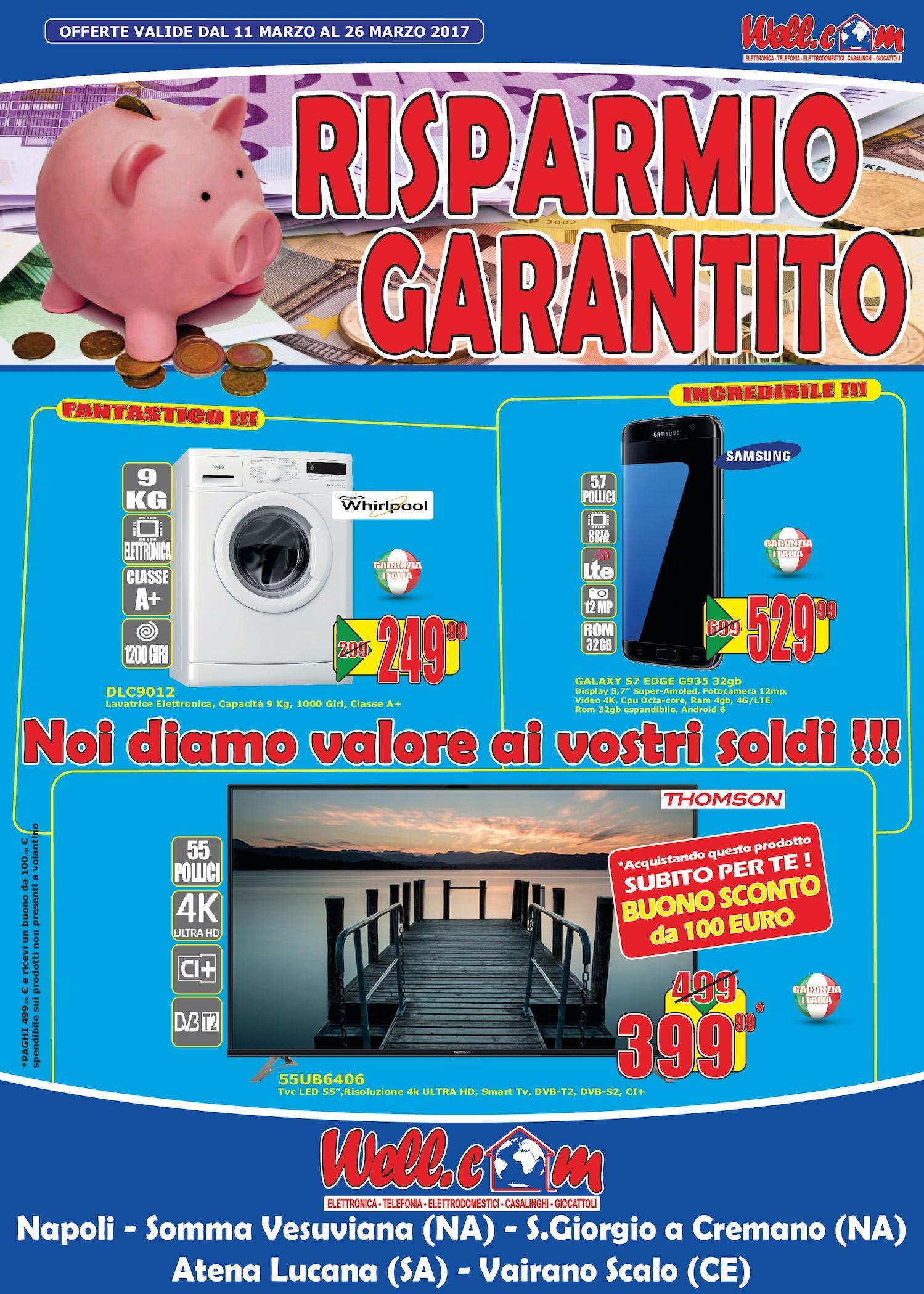 Volantino Wellcom Marzo 2017