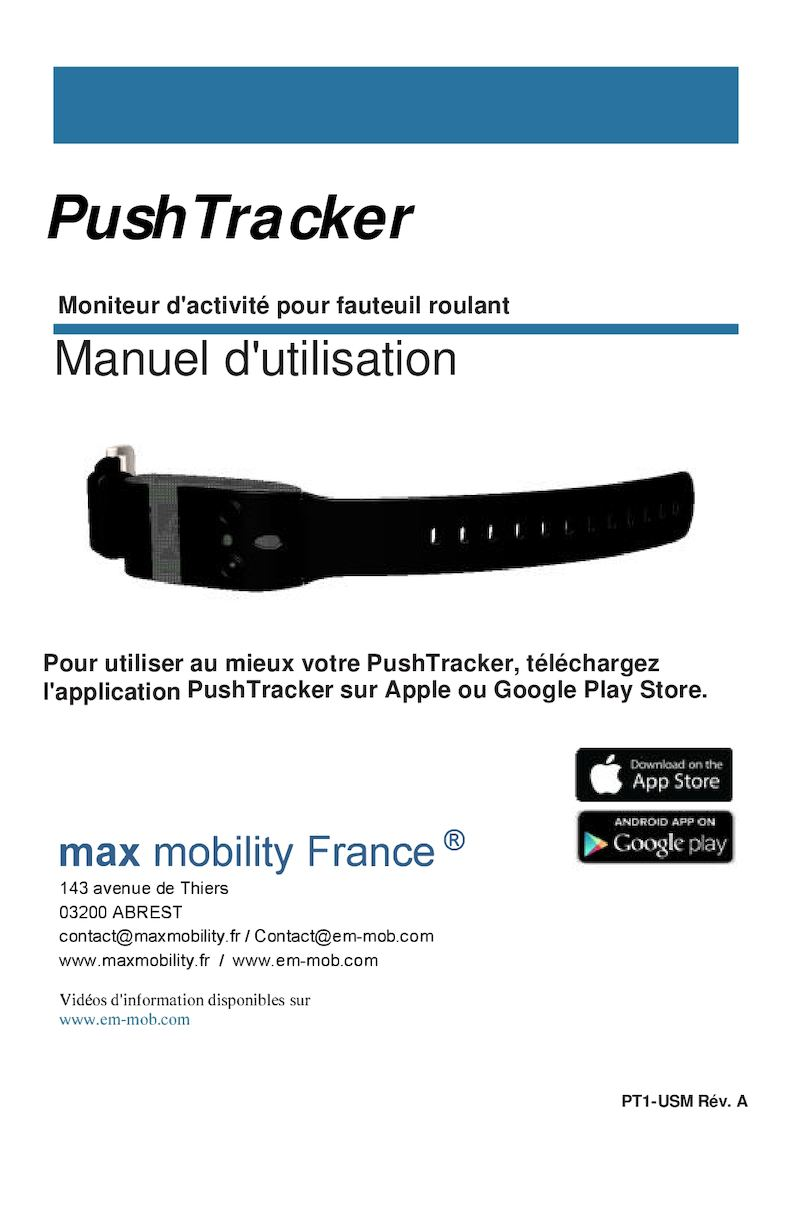 Push Tracker User's Manuel
