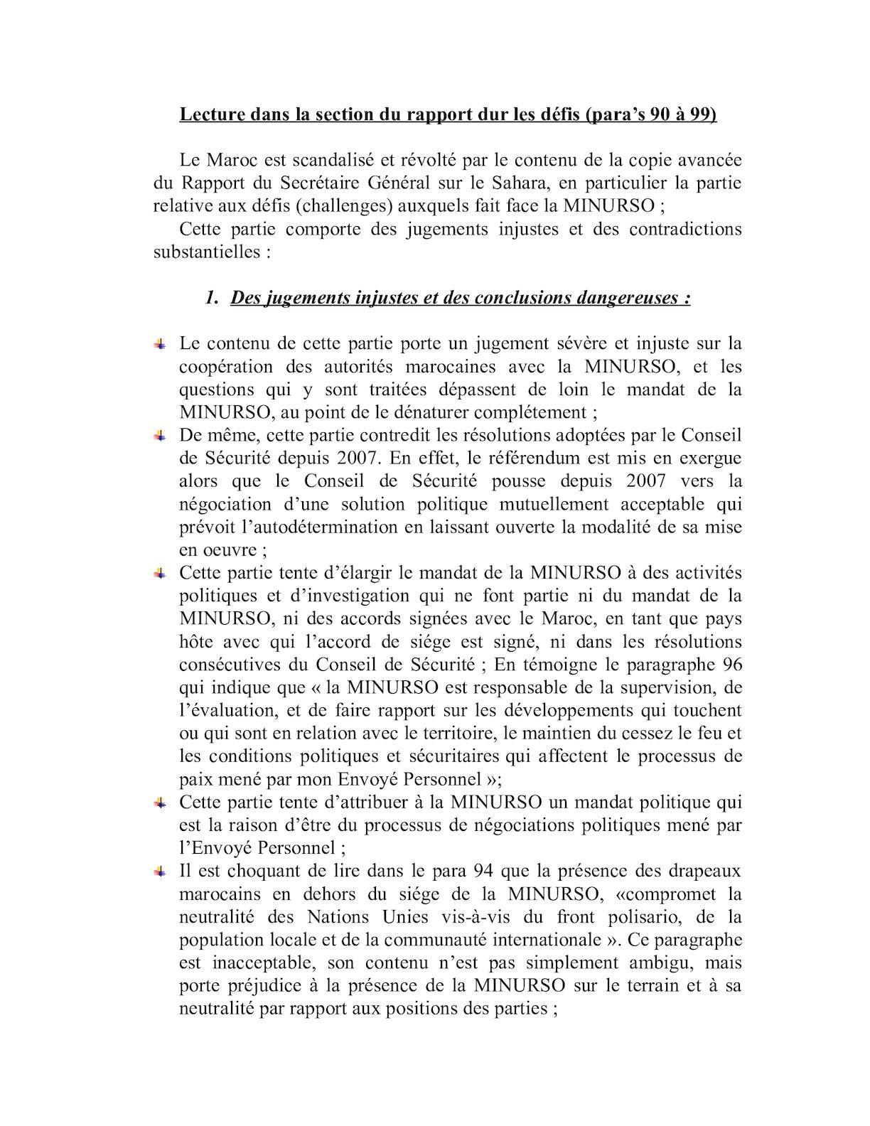 Eléments De Langage Entretien De Monsieur Le Ministre Avec M. Ban