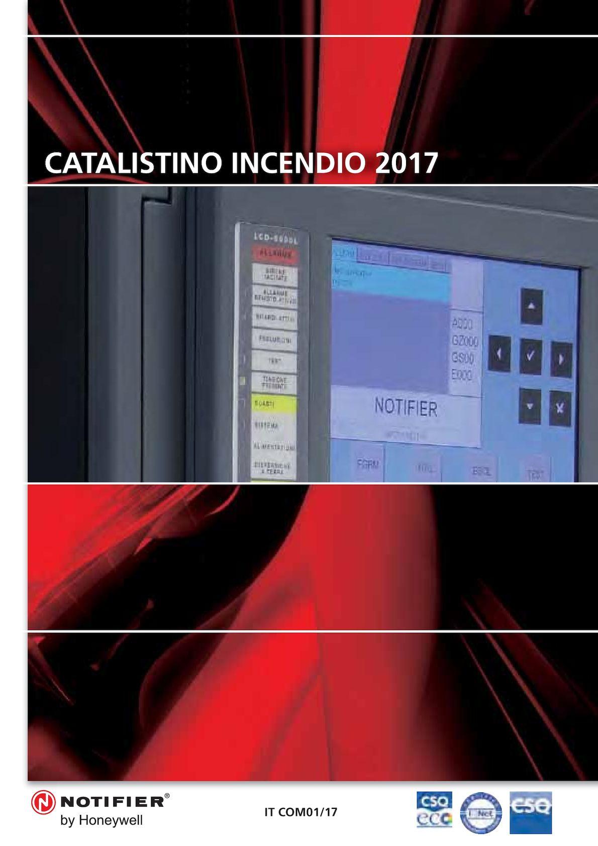 Schemi Elettrici Notifier : Calaméo listino notifier antincendio