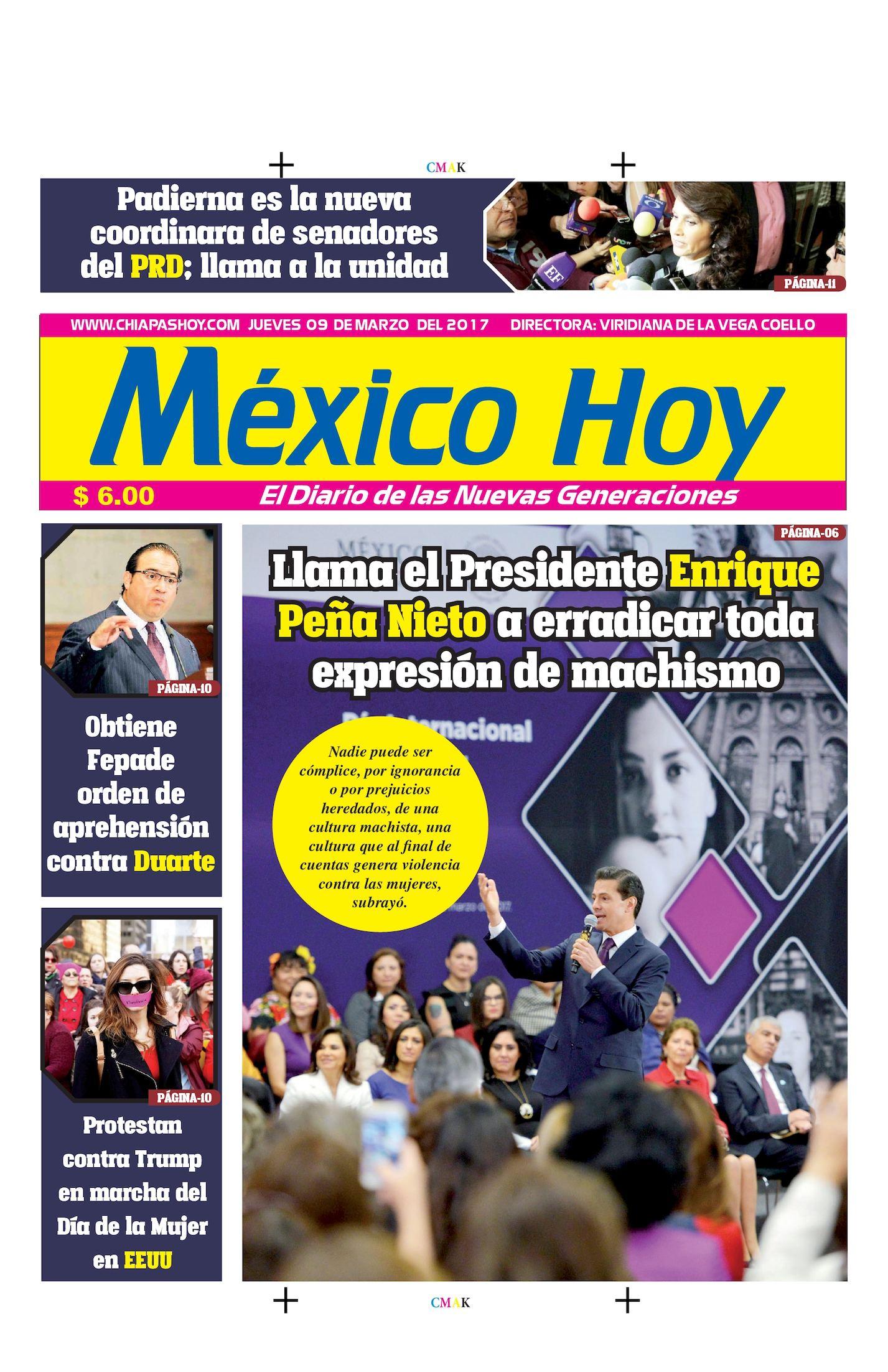 MEXICO  09 DE MARZO