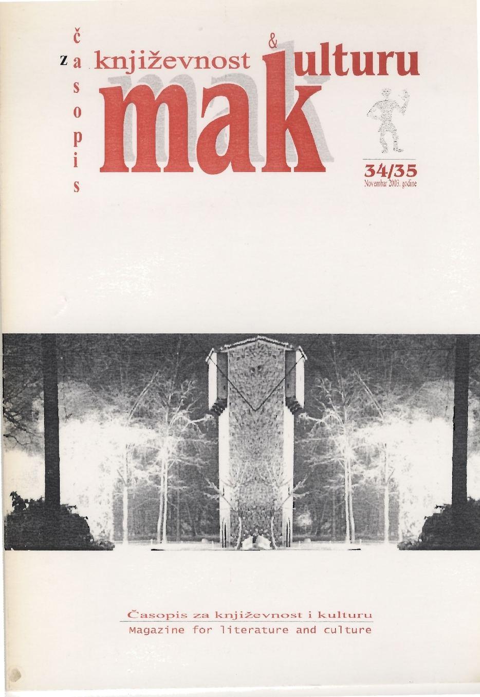 Casopis MAK Br. 34 35