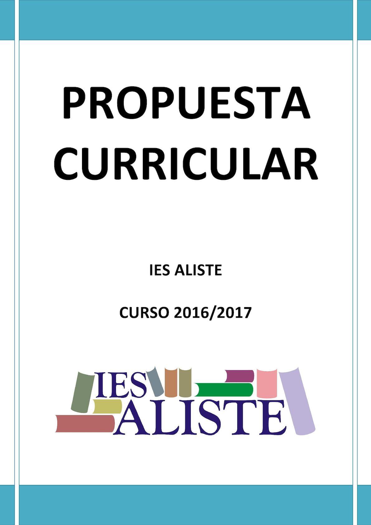 Calaméo - Propuesta Curricular 2016 2017