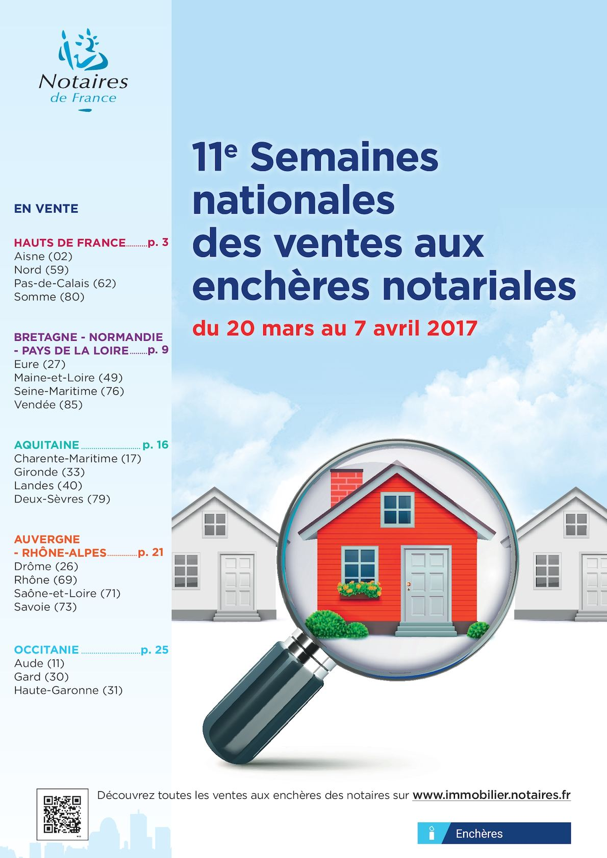 calam o programme national semaines nationales des ventes aux ench res notariales 2017. Black Bedroom Furniture Sets. Home Design Ideas